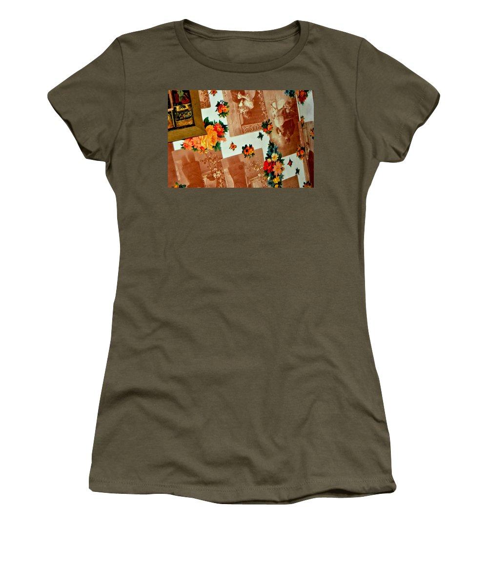 Wall Women's T-Shirt featuring the photograph The Wall by Pierdutin