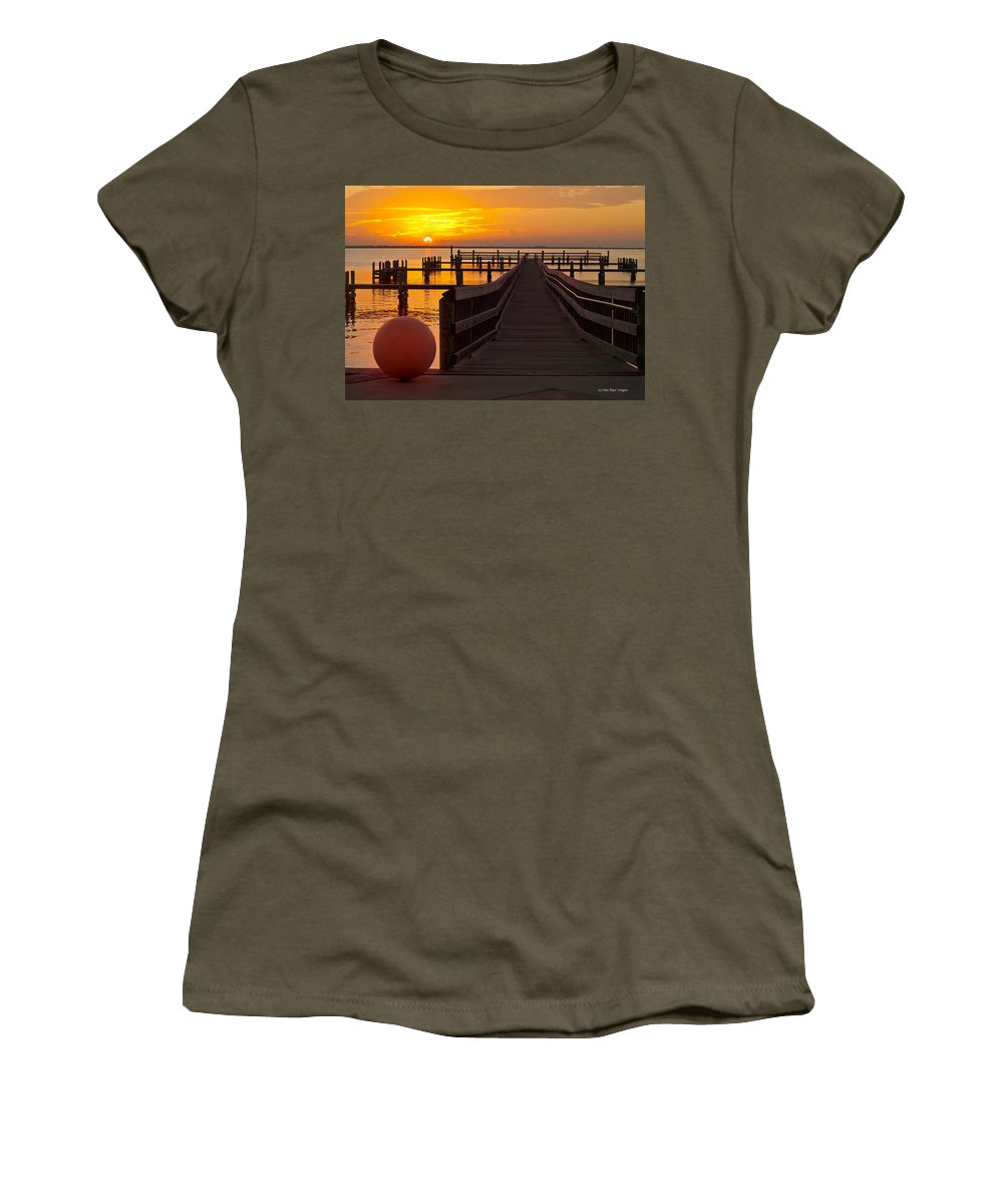 Women's T-Shirt (Athletic Fit) featuring the photograph Warmth Of The Sun by Kenneth Blye