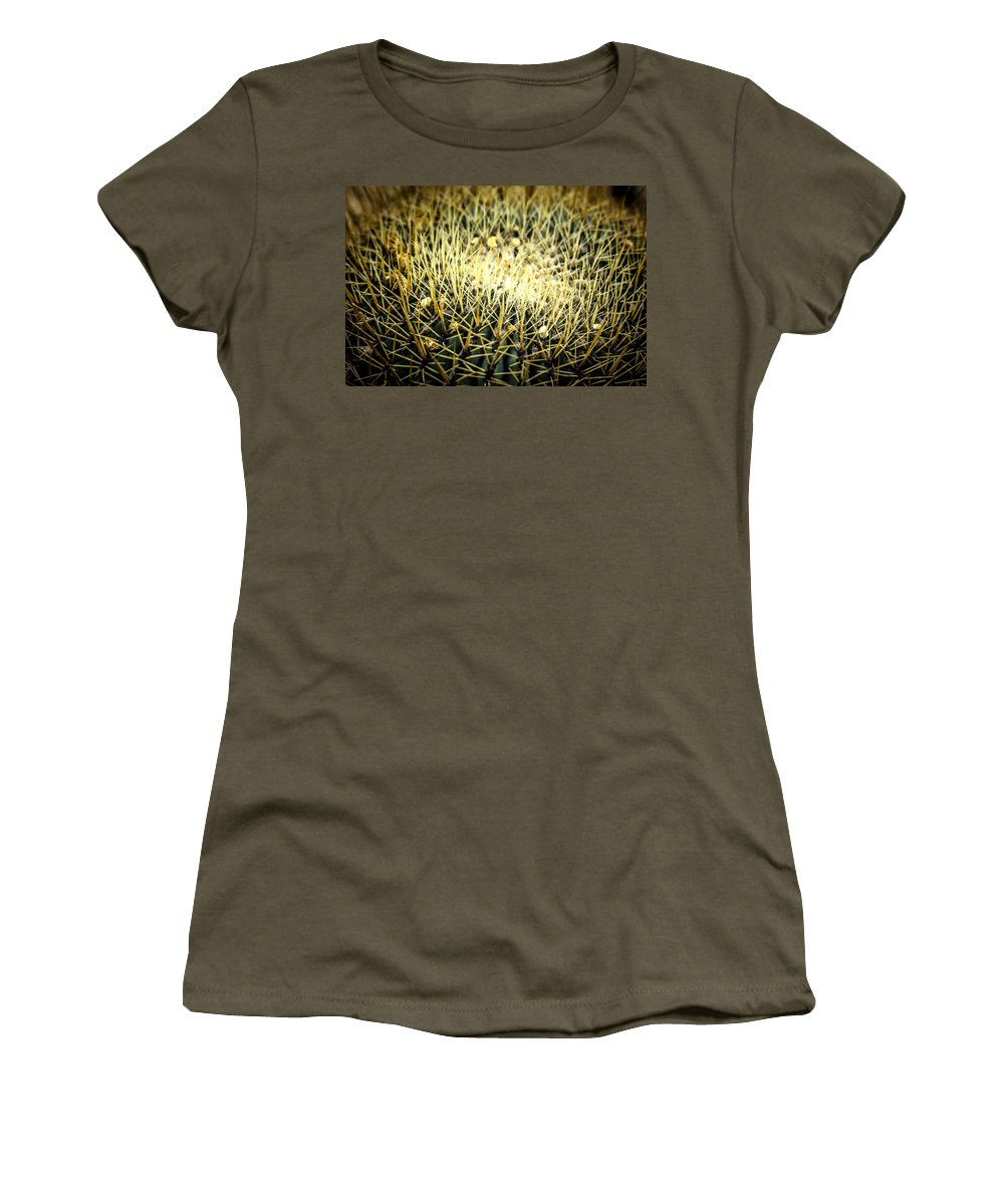 Agriculture Women's T-Shirt featuring the photograph Cactus by Jijo George