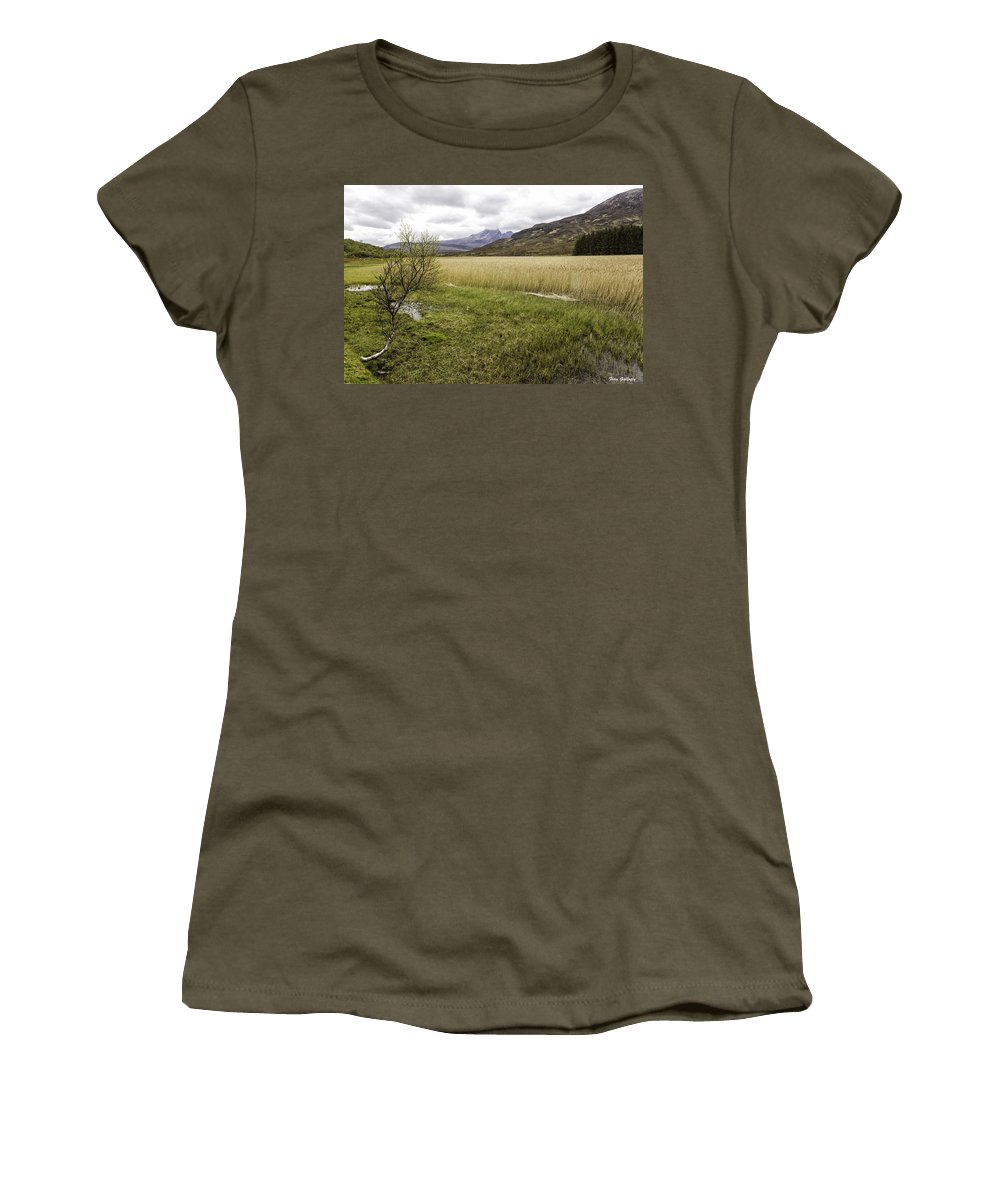 Cullins Women's T-Shirt featuring the photograph Cullin View by Fran Gallogly