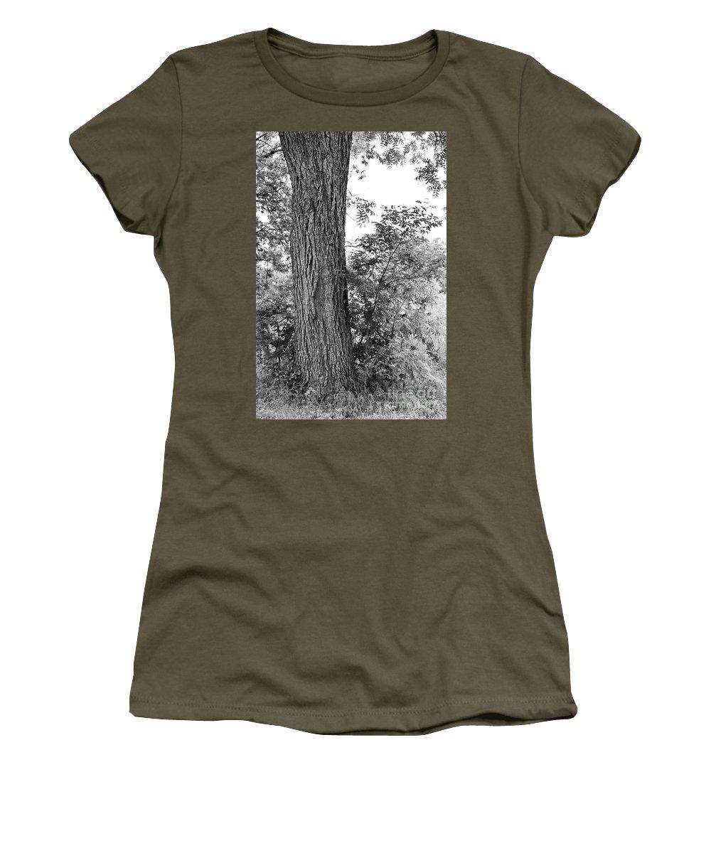 Heaven Women's T-Shirt featuring the photograph Heaven's Tree by Gary Richards