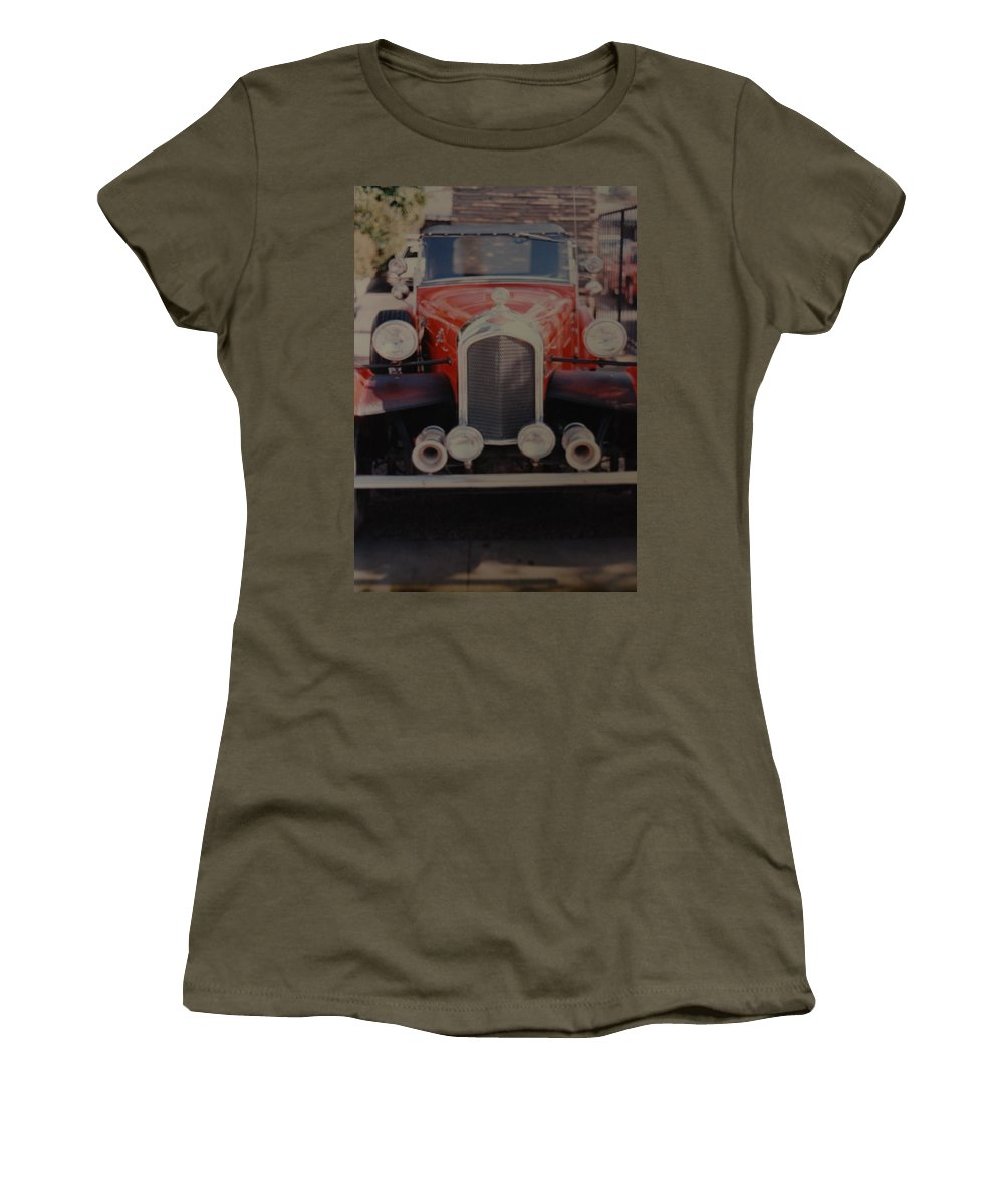 Car Women's T-Shirt featuring the photograph 1932 by Rob Hans