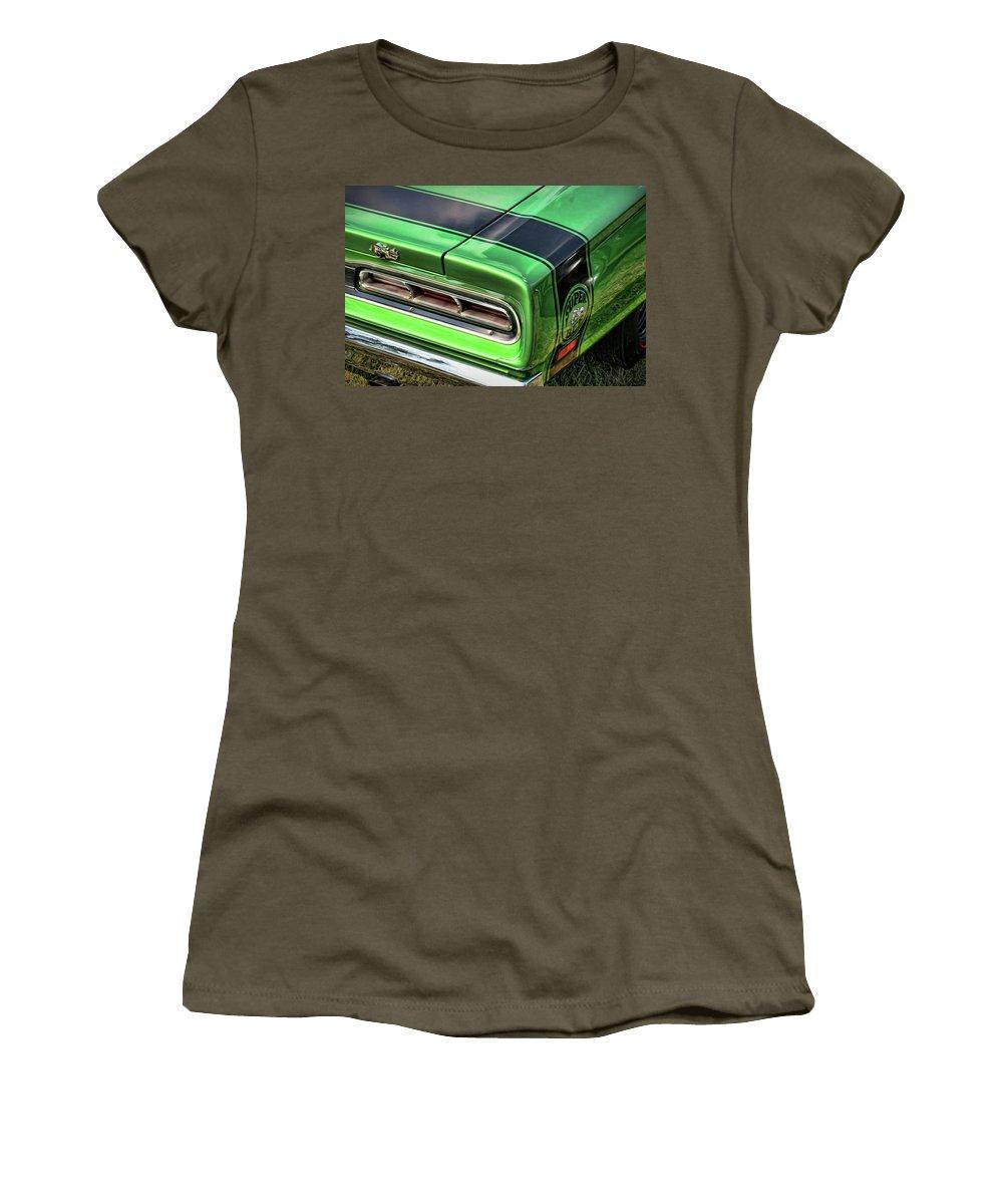 1969 Women's T-Shirt featuring the photograph 1969 Dodge Coronet Super Bee by Gordon Dean II
