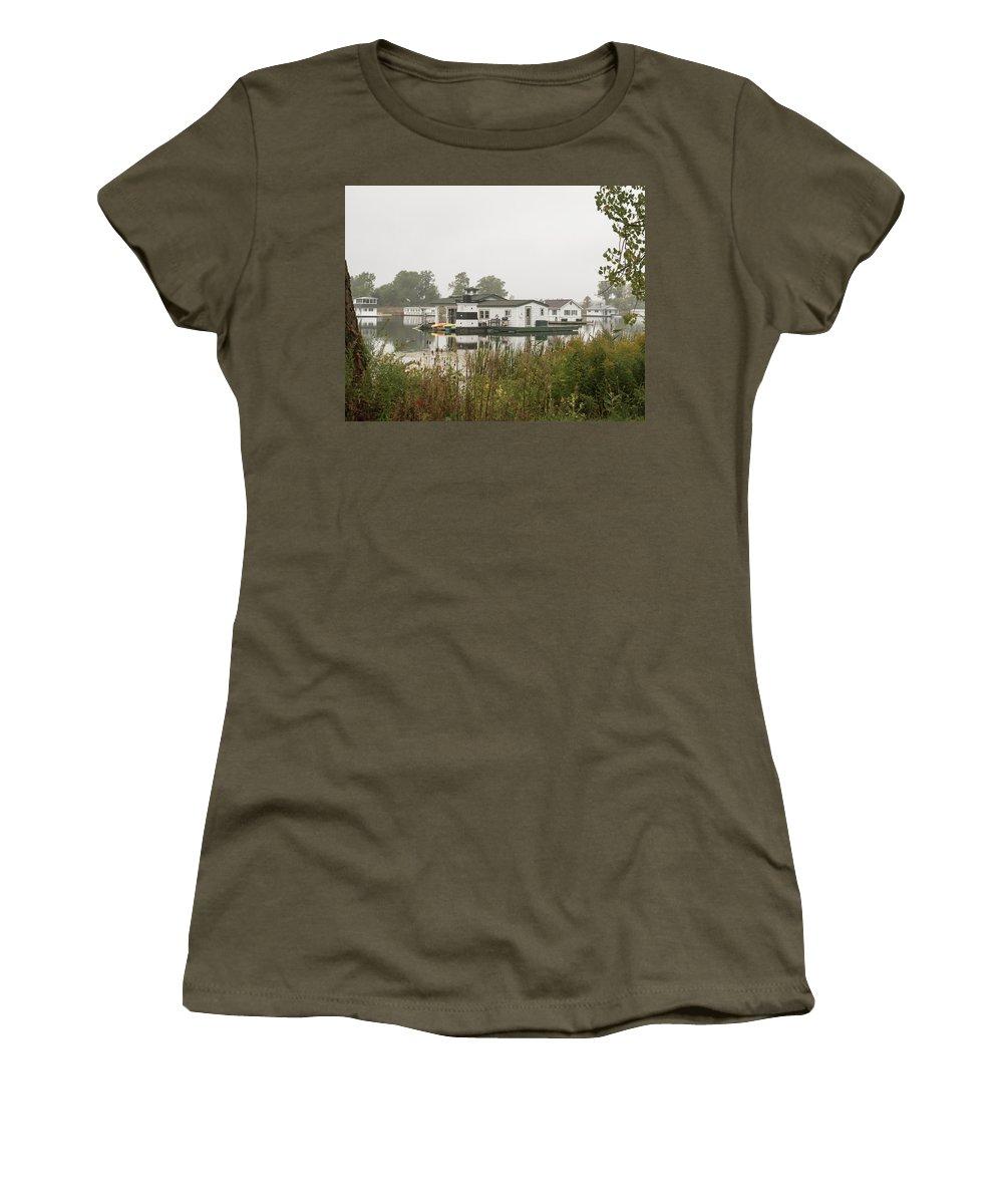 Women's T-Shirt featuring the photograph 2017 10 08 A 148 by Neil Smilek