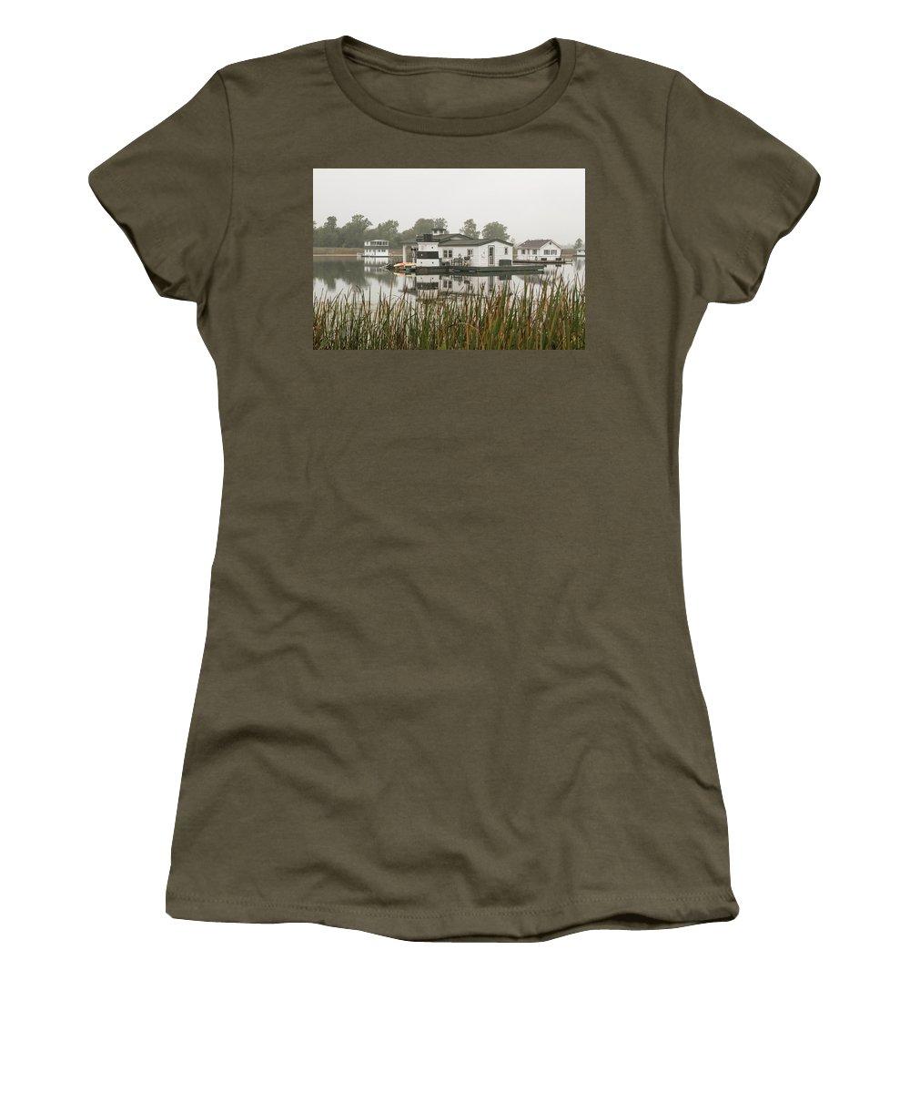Women's T-Shirt featuring the photograph 2017 10 08 A 157 by Neil Smilek