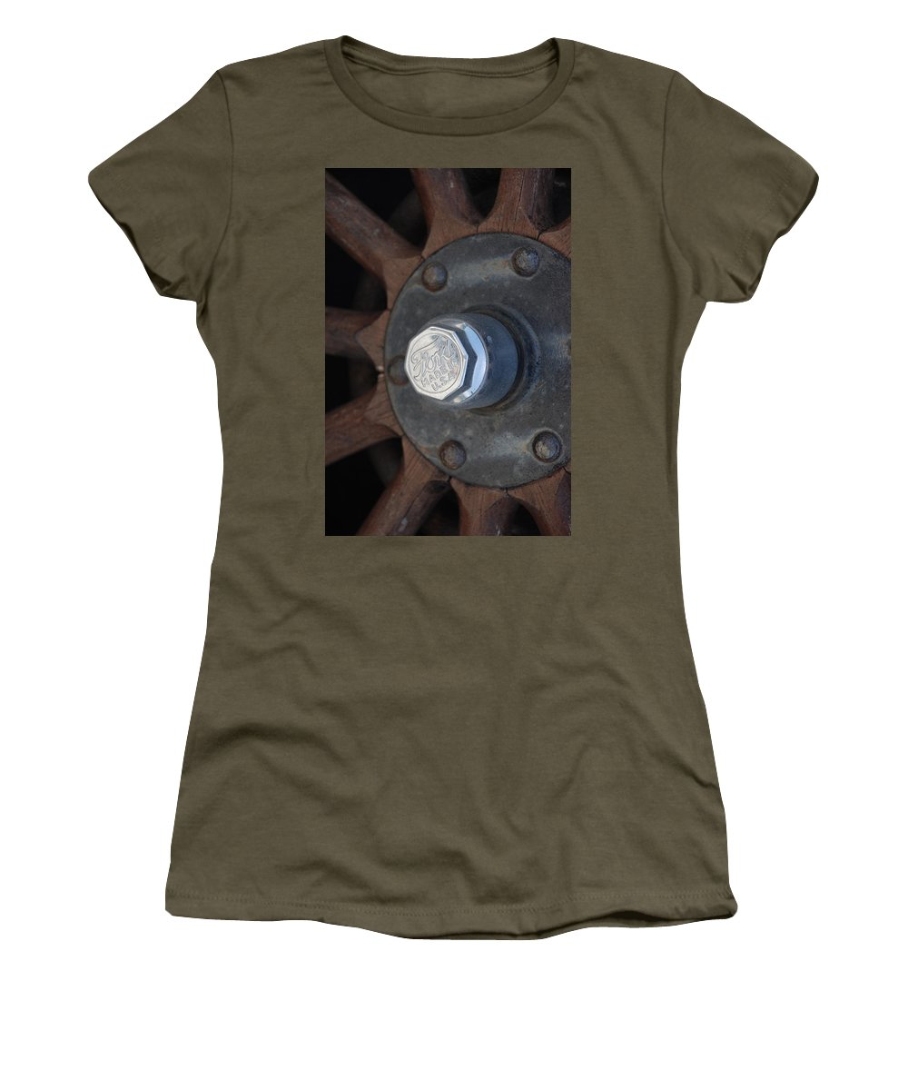 Hup Caps Women's T-Shirt (Athletic Fit) featuring the photograph 1926 Model T Ford by Rob Hans