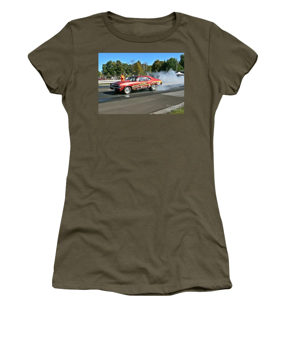 09-29-13 Women's T-Shirt (Athletic Fit) featuring the photograph 2875 09-29-13 Esta Safety Park by Vicki Hopper