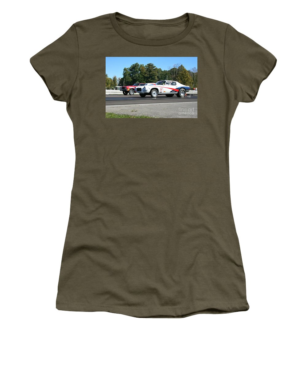 09-29-13 Women's T-Shirt (Athletic Fit) featuring the photograph 2944 09-29-13 Esta Safety Park by Vicki Hopper