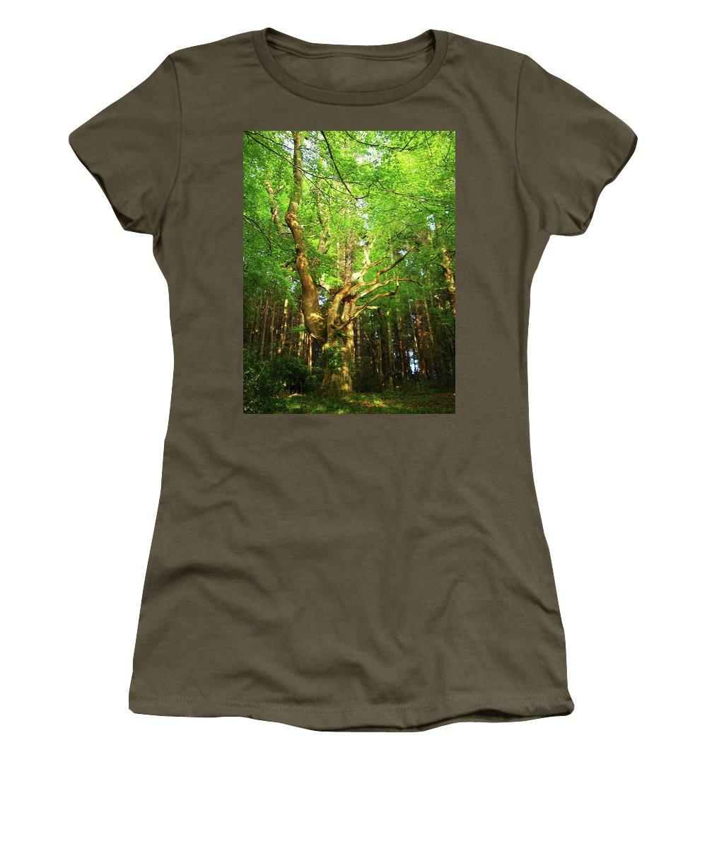 Landscape Women's T-Shirt featuring the photograph Hazelwood Co Sligo Ireland by Louise Macarthur Art and Photography