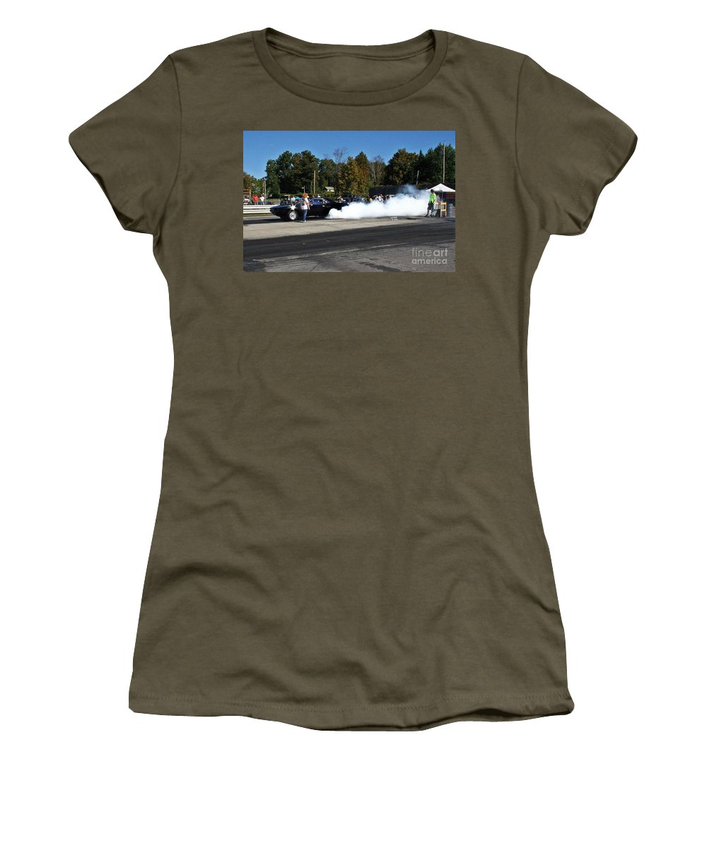 09-29-13 Women's T-Shirt (Athletic Fit) featuring the photograph 3049 09-29-13 Esta Safety Park by Vicki Hopper