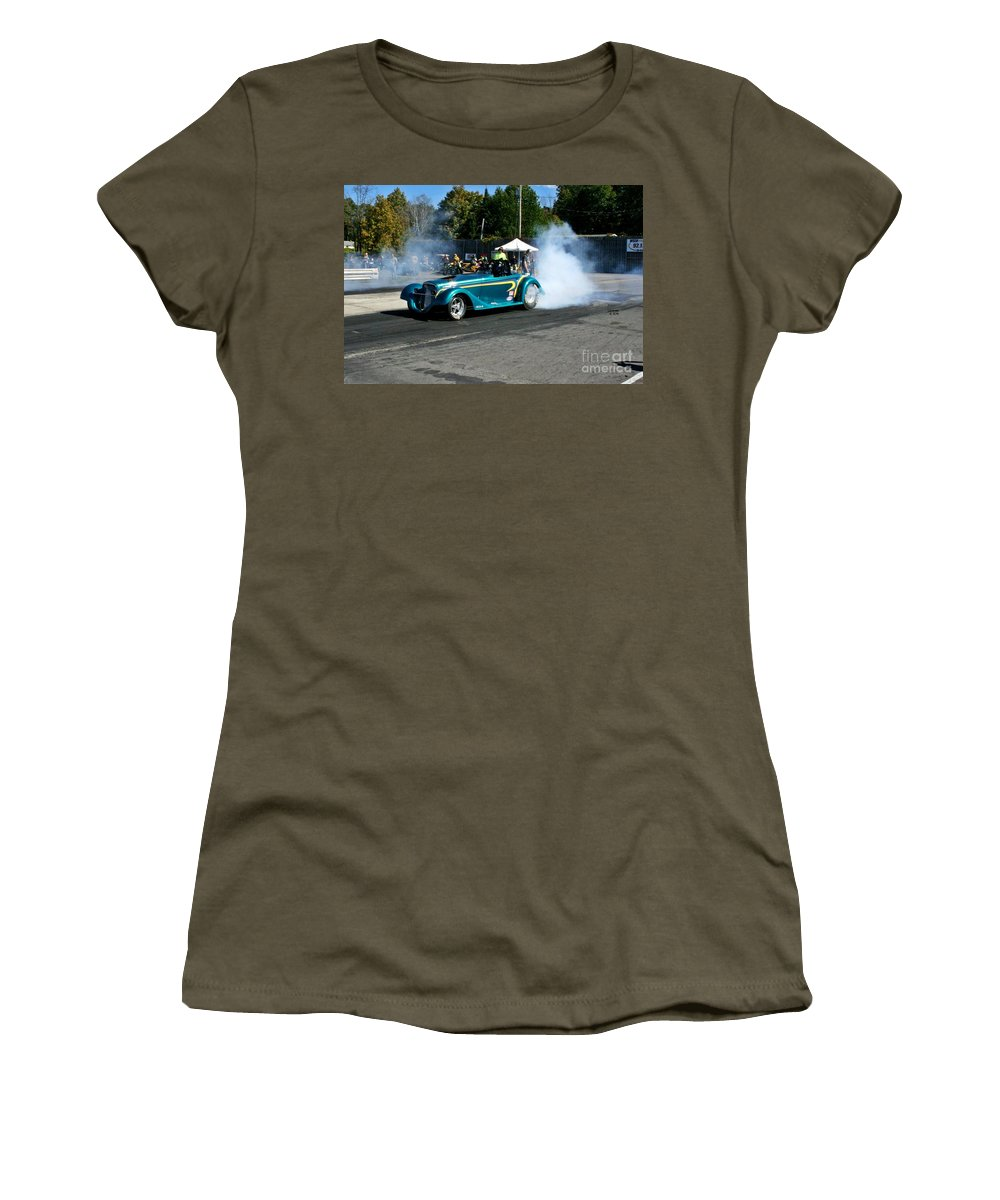09-29-13 Women's T-Shirt (Athletic Fit) featuring the photograph 3063 09-29-13 Esta Safety Park by Vicki Hopper