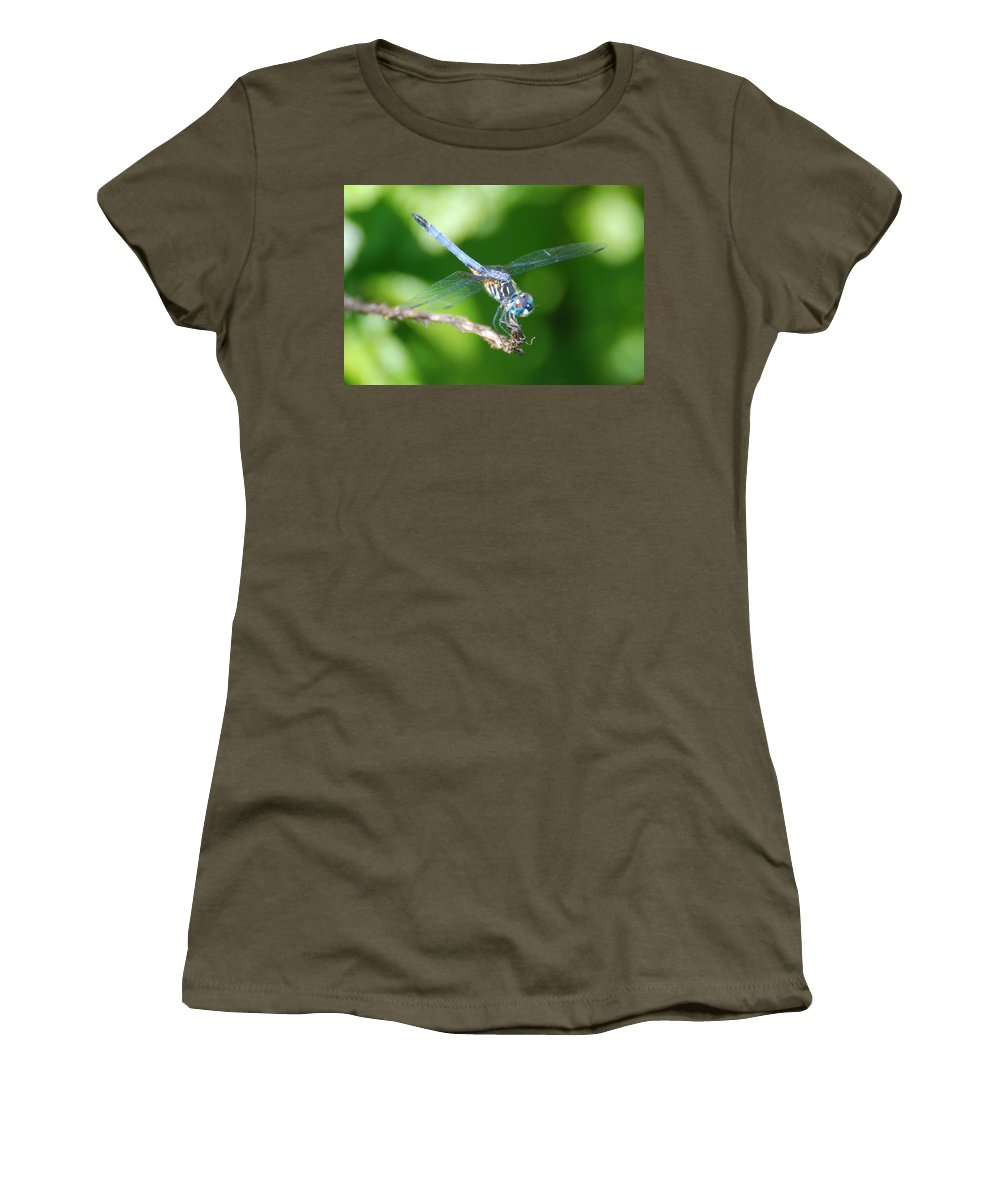 Nature Women's T-Shirt featuring the photograph Dragon Fly by Rob Hans