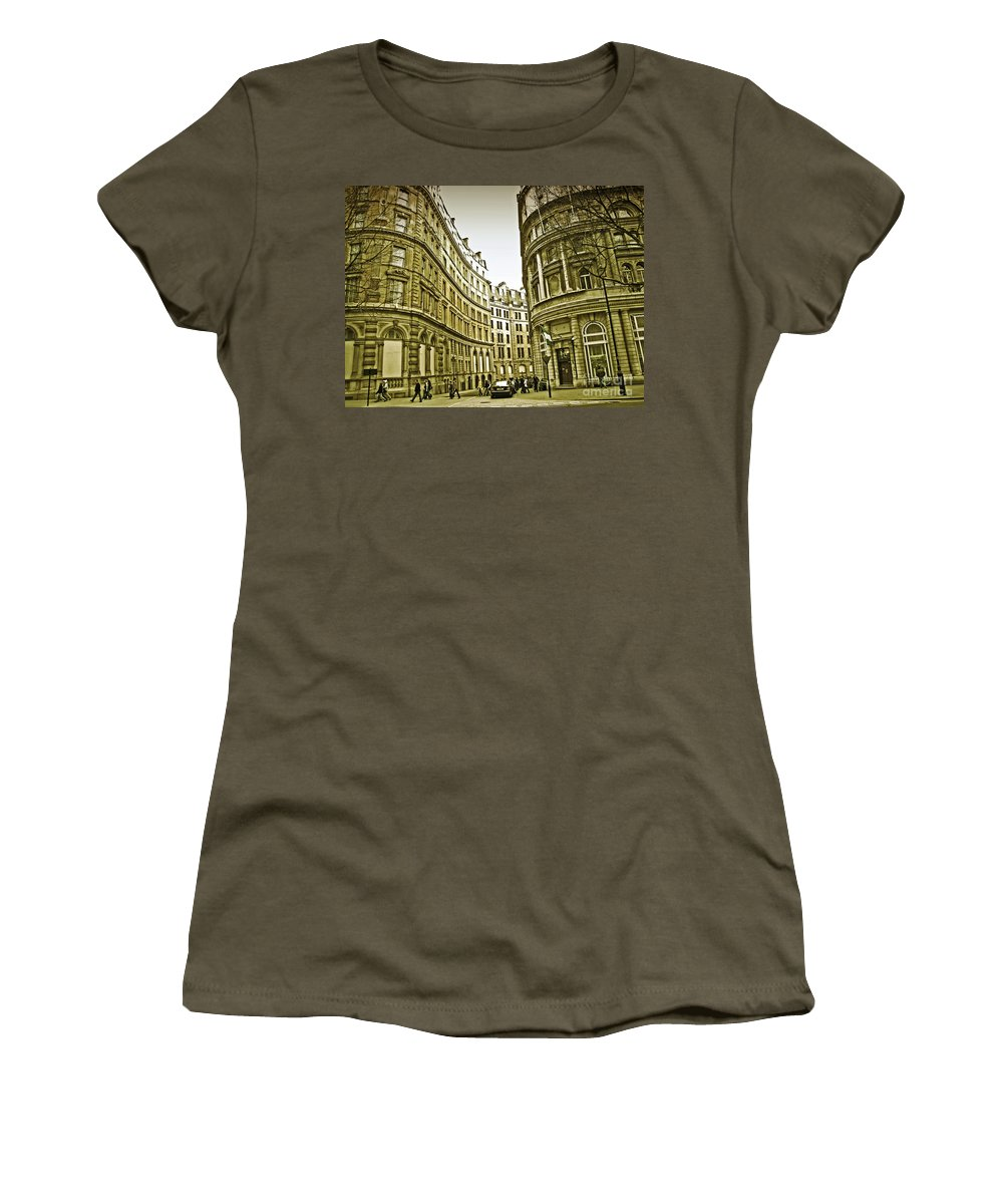 London Women's T-Shirt featuring the photograph A Day In London by Madeline Ellis