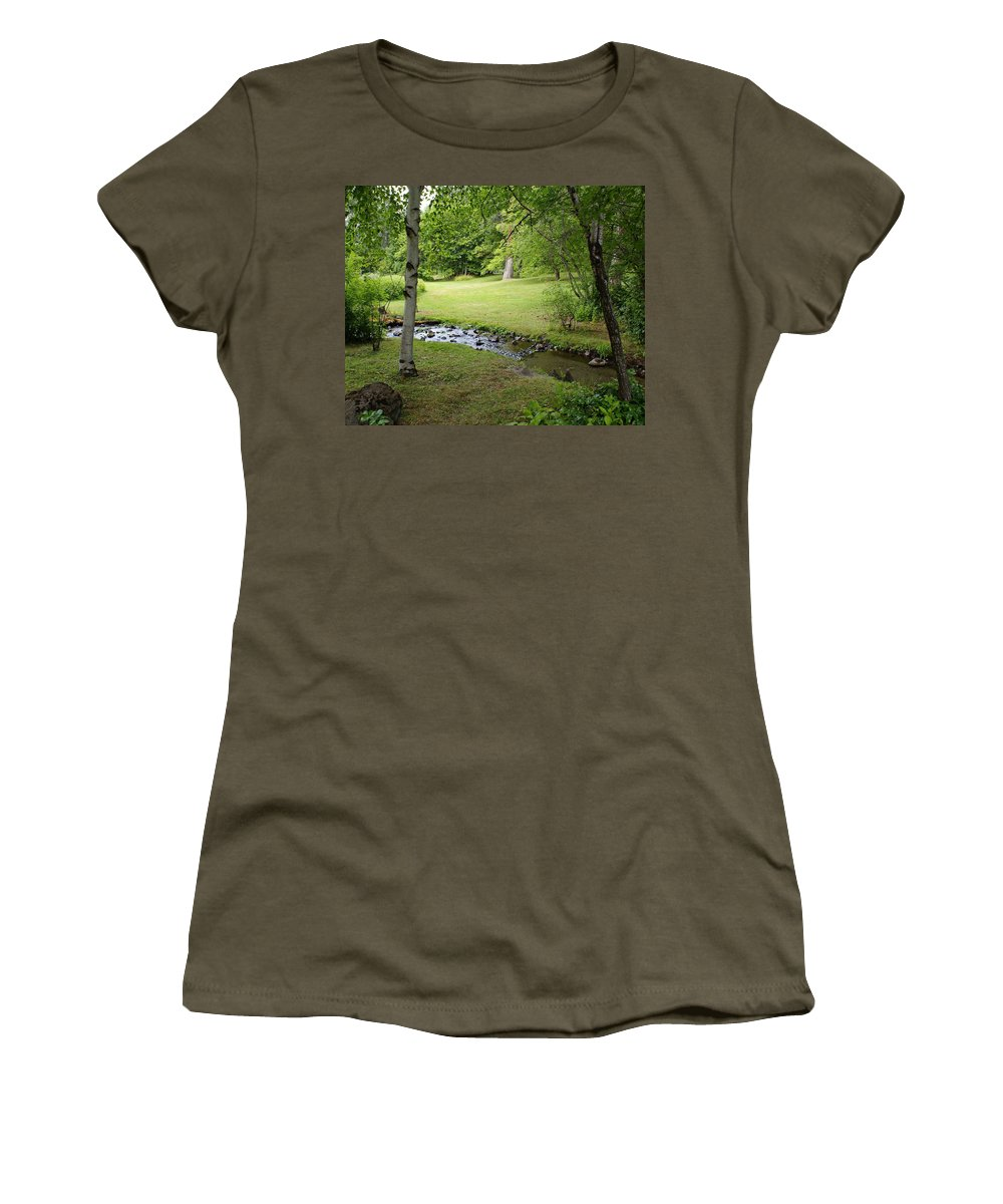 Nature Women's T-Shirt featuring the photograph A Place To Dream Awhile by Ben Upham III