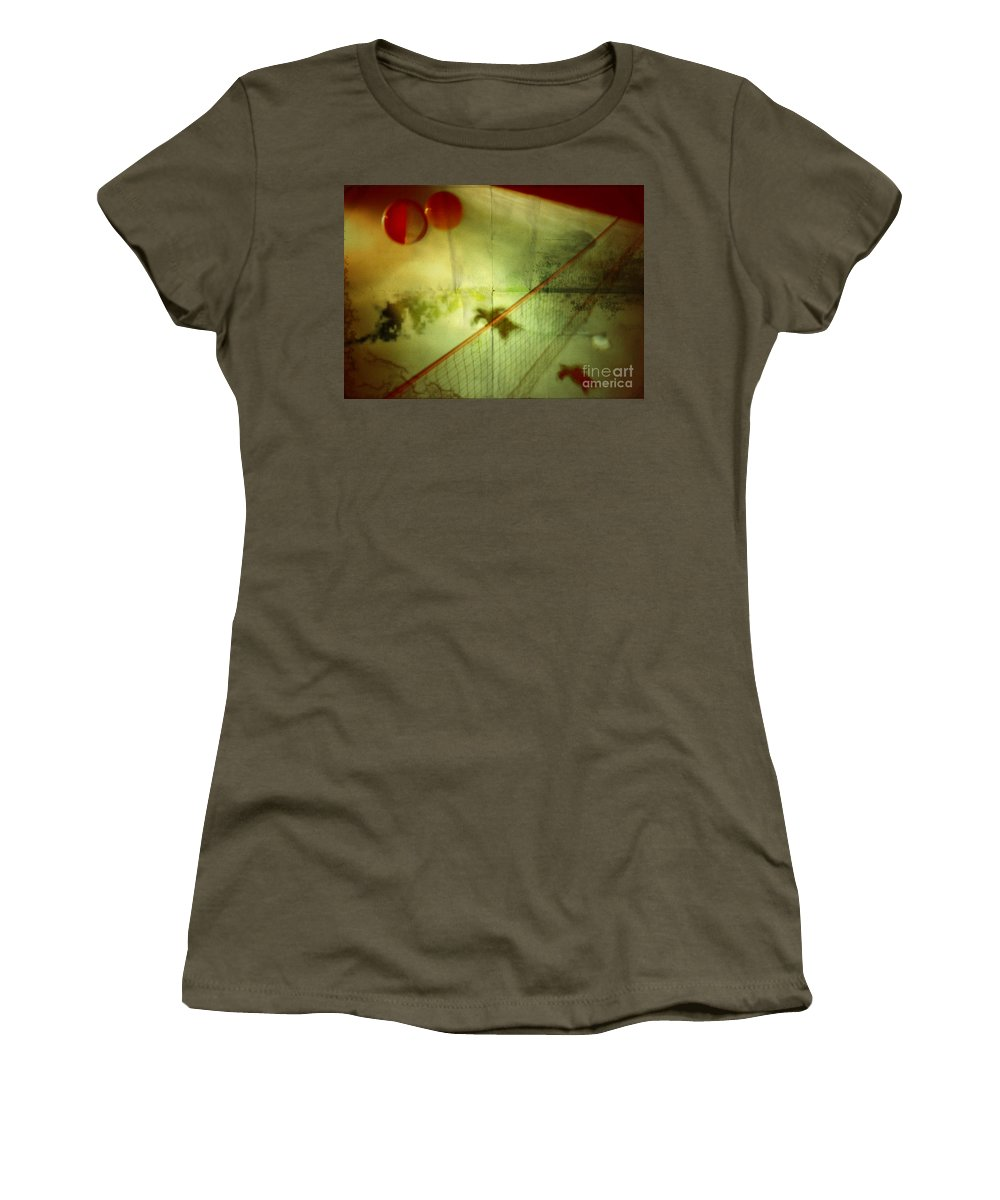 Pool Women's T-Shirt (Athletic Fit) featuring the photograph All Good Things Come To An End by Jason Williams