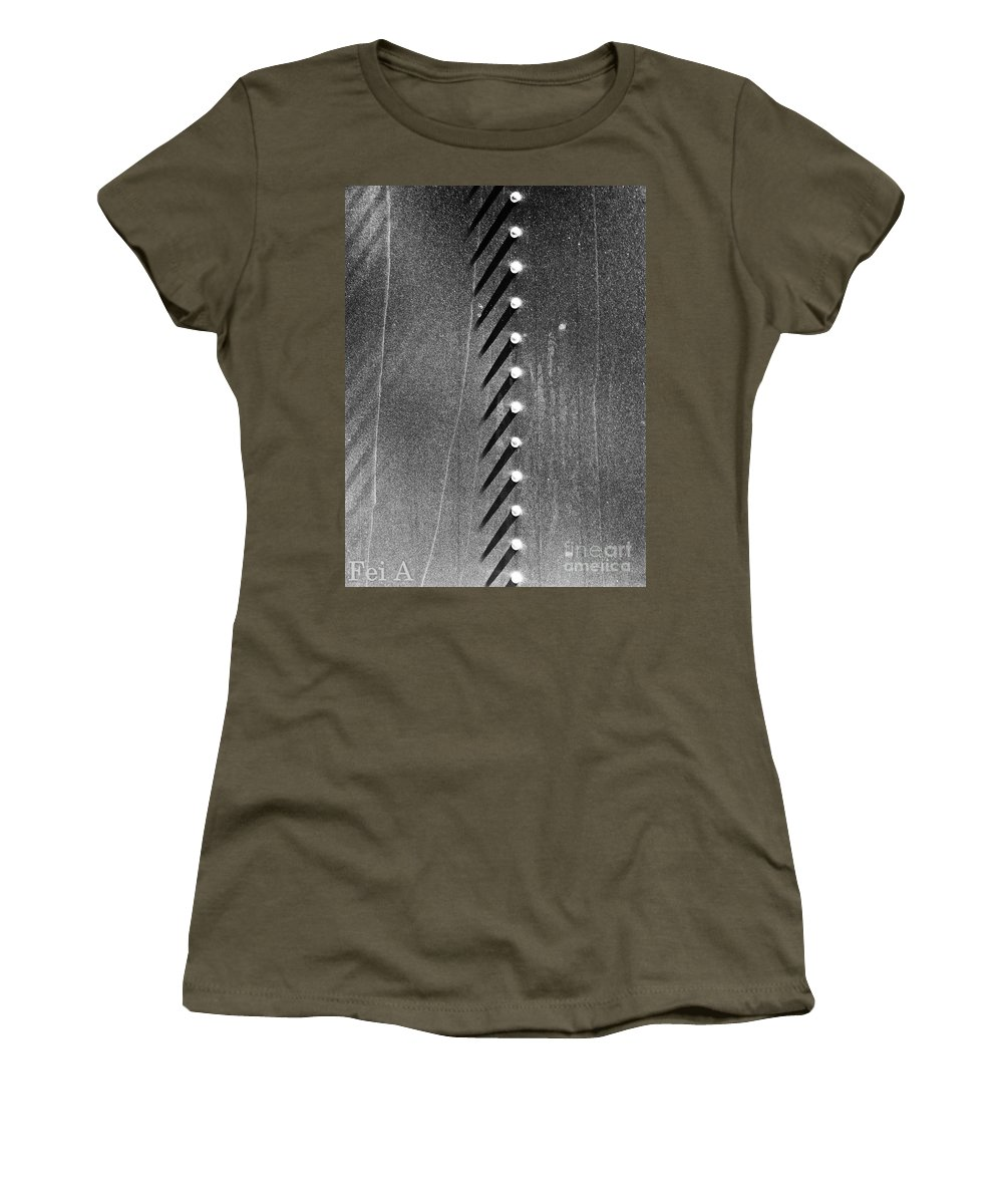 Abstract Women's T-Shirt featuring the photograph All That Exists by Fei A