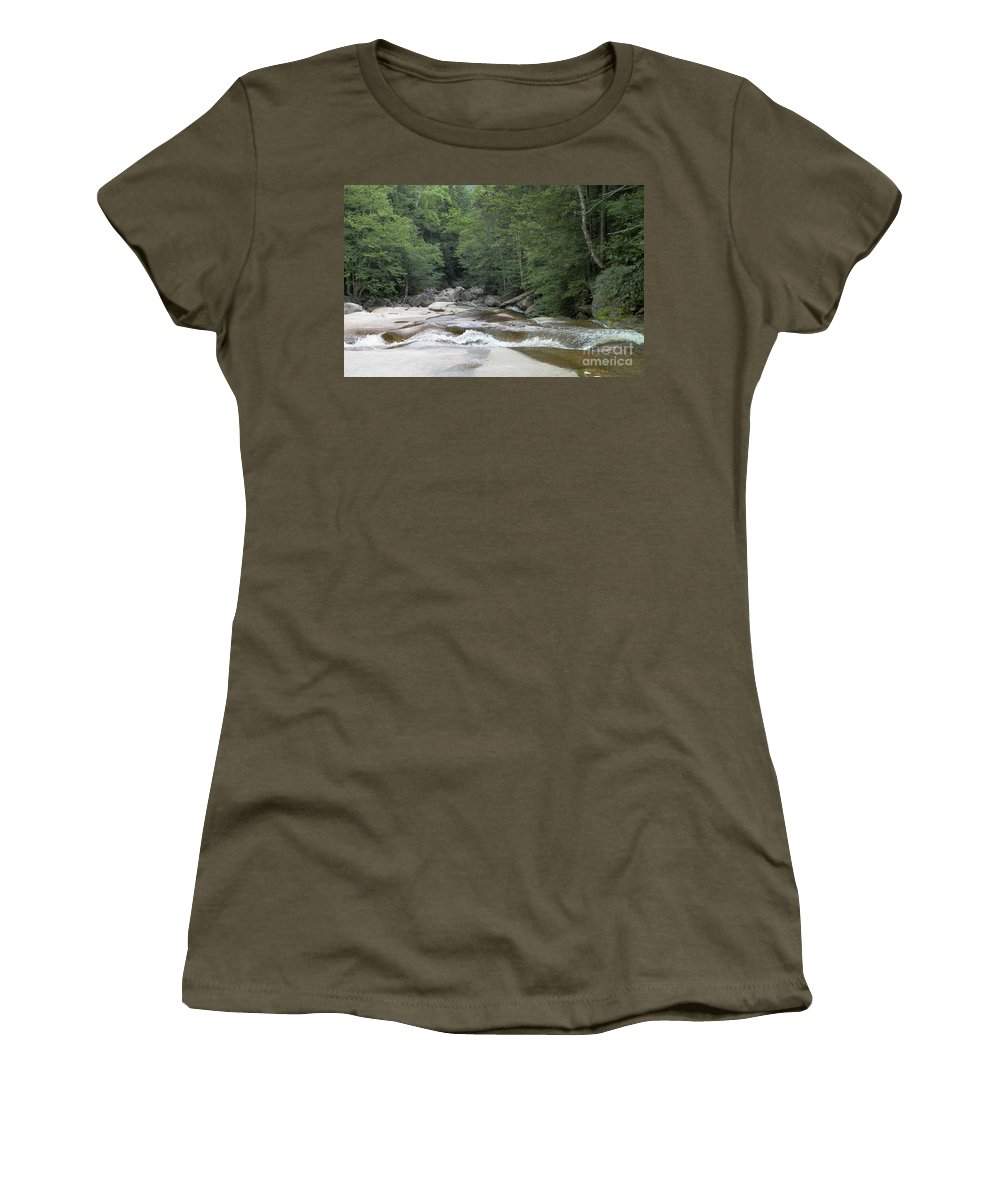 Nature Women's T-Shirt featuring the photograph Along The Hiking Trail by Gina Sullivan