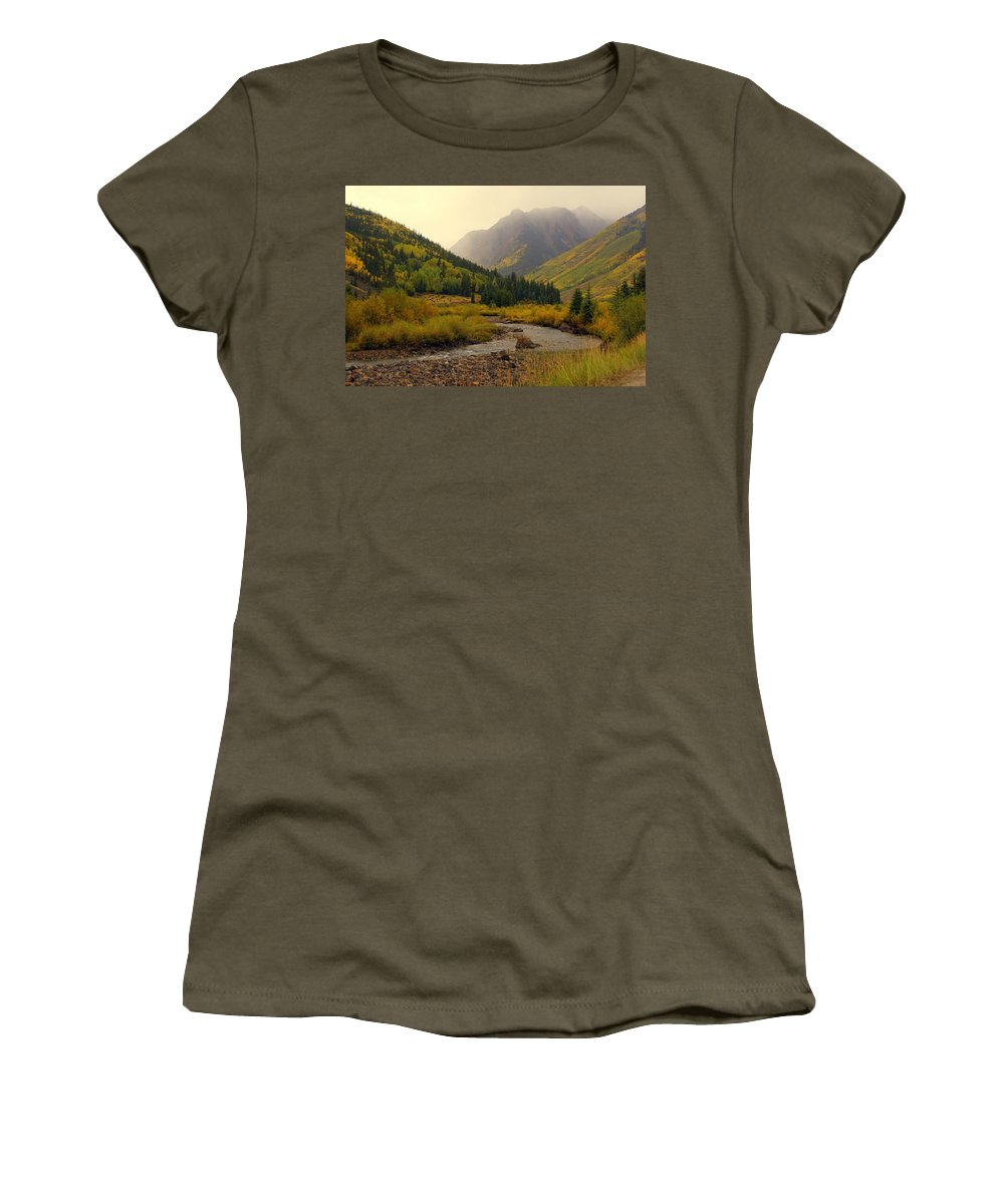 Colorado Women's T-Shirt featuring the photograph Alpine Loop Fall by Marty Koch