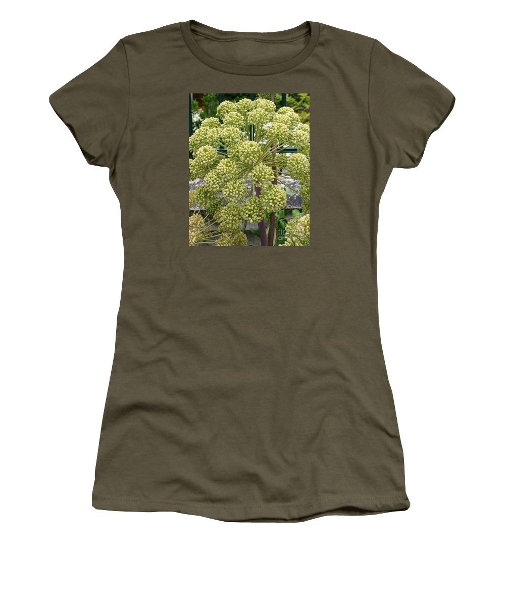 Angelica Women's T-Shirt featuring the photograph Angelica by Christiane Schulze Art And Photography