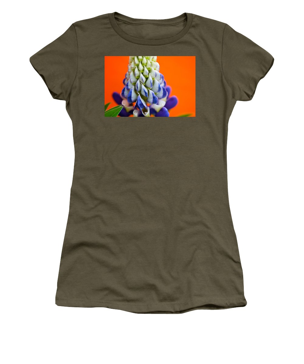 Interior Design Women's T-Shirt (Athletic Fit) featuring the photograph Attention Seeking by Lisa Knechtel