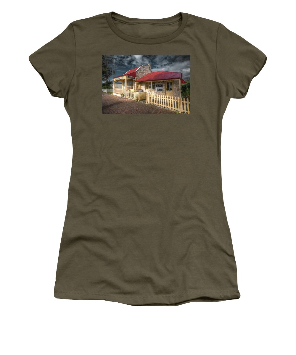 Attic Women's T-Shirt (Athletic Fit) featuring the photograph Attic House by Wayne Sherriff