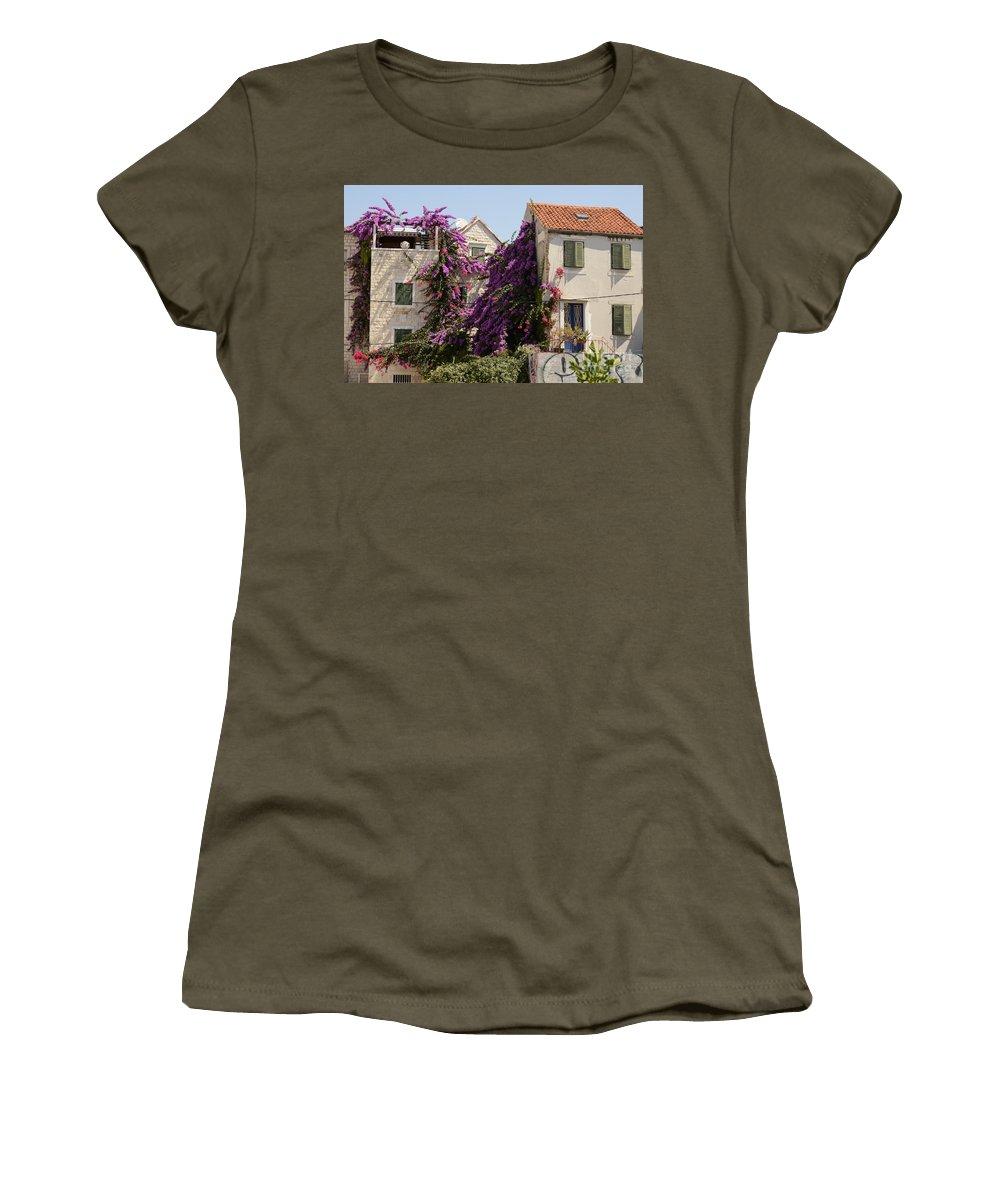 Split Women's T-Shirt featuring the photograph Beauty Of Split by Elaine Berger