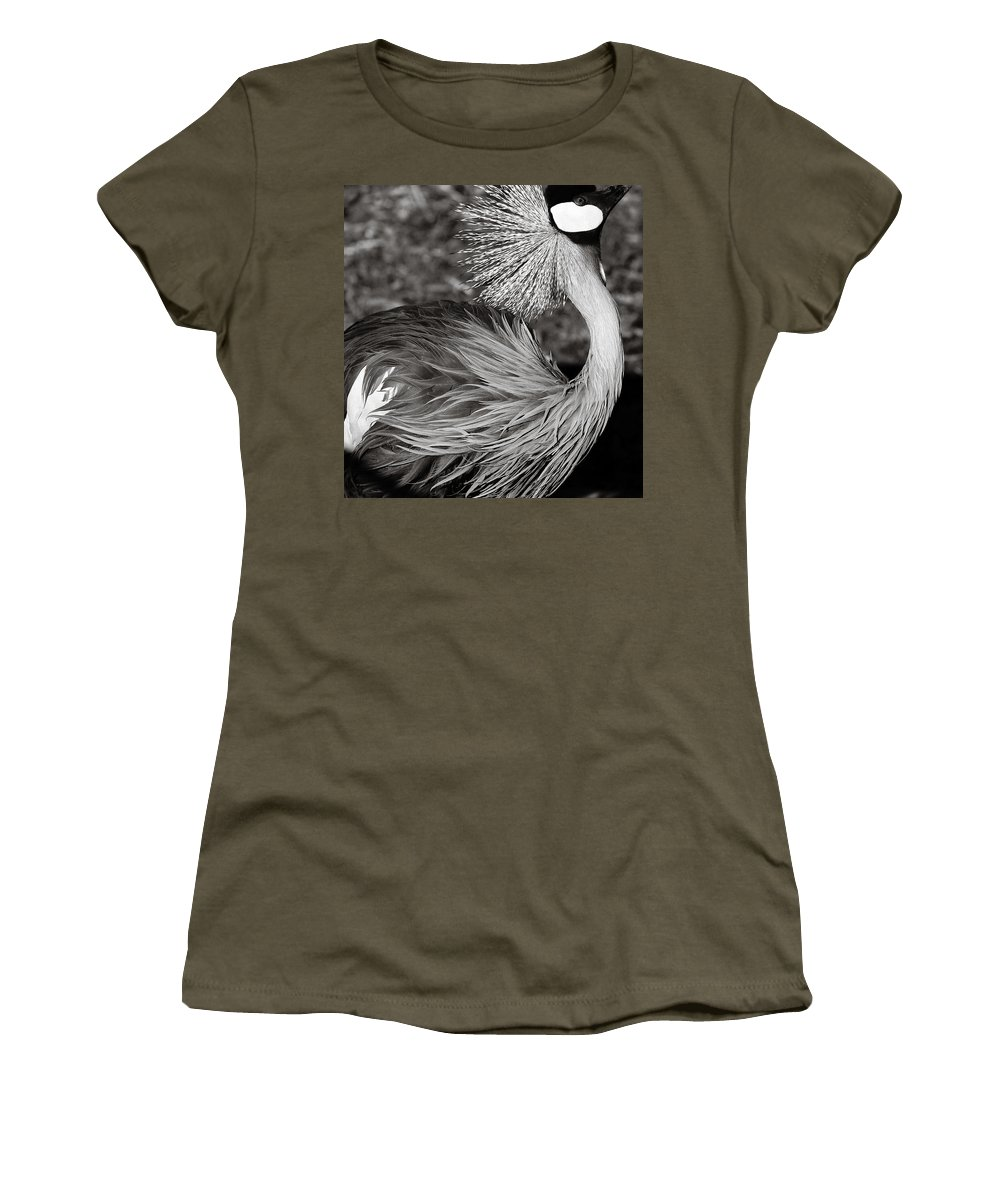Bird Women's T-Shirt (Athletic Fit) featuring the photograph Best Feathers Ever by Marilyn Hunt