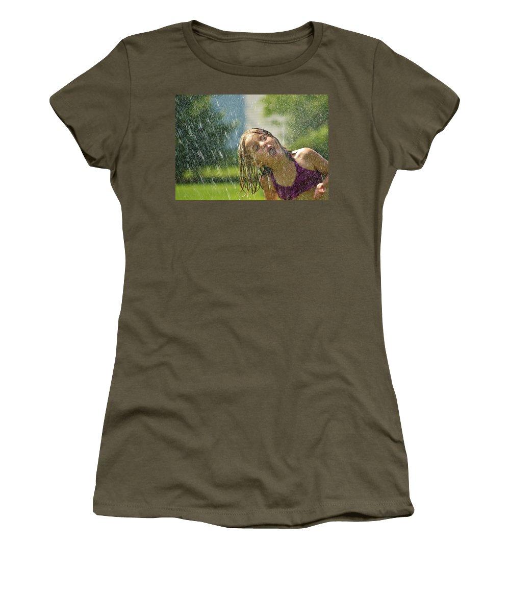 Summer Women's T-Shirt featuring the photograph Best Part Of Summer by Denise Irving