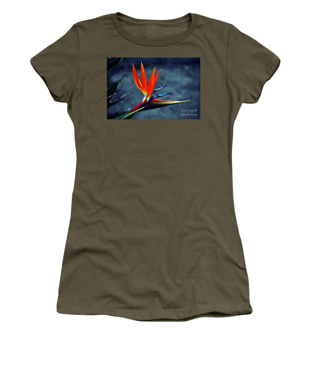Clay Women's T-Shirt featuring the photograph Bird Of Paradise by Clayton Bruster
