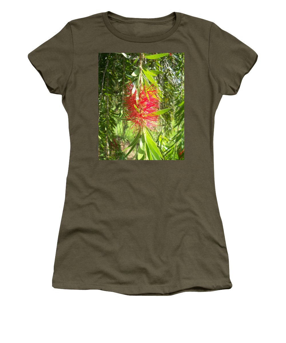 Florida Women's T-Shirt (Athletic Fit) featuring the photograph Bittersweet Bloom I by Chris Andruskiewicz