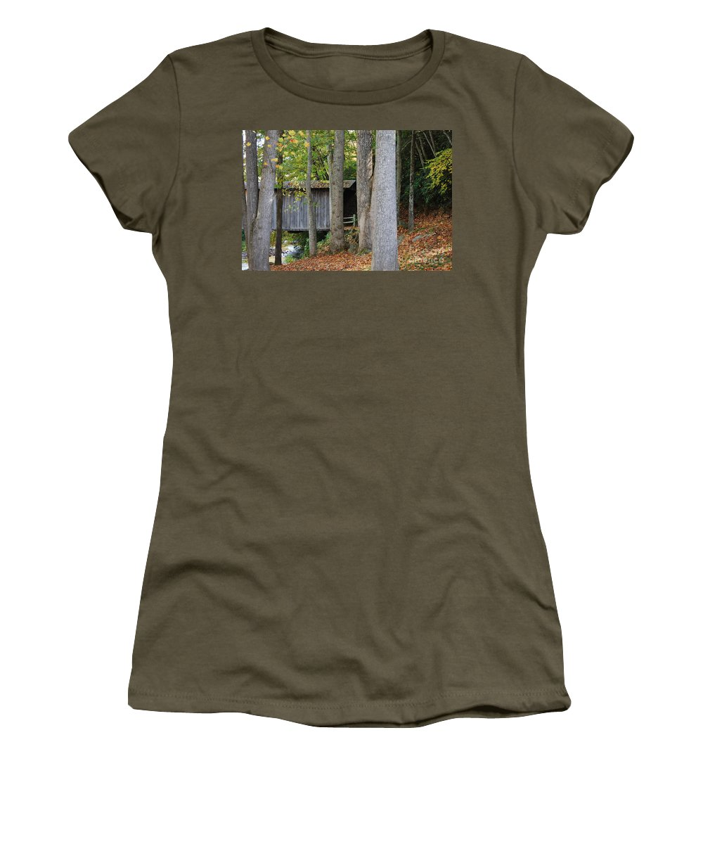 Bridge Women's T-Shirt featuring the photograph Bob White by Eric Liller