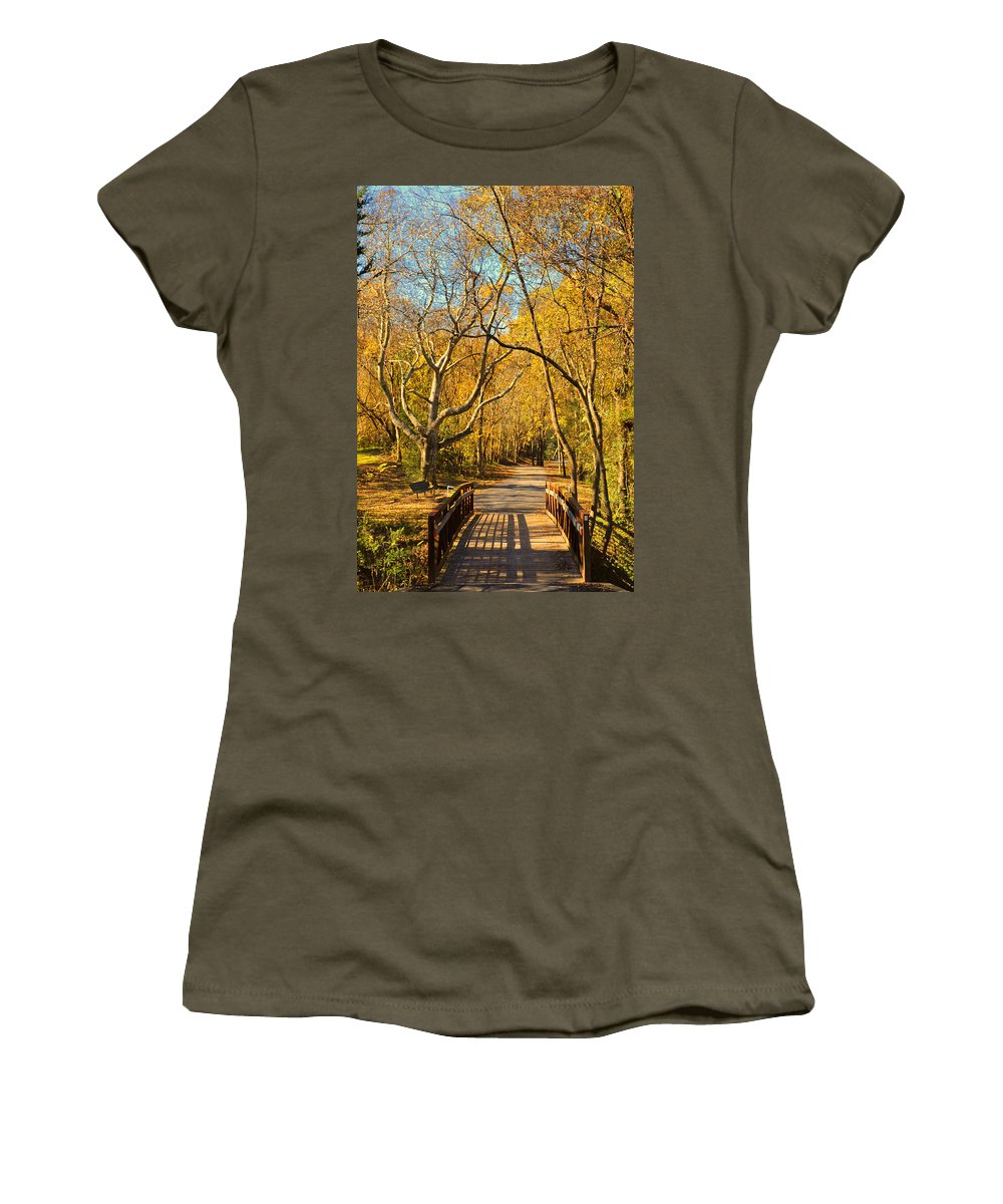 Trail Women's T-Shirt featuring the photograph Bridge Of Sighs by Stephen Anderson