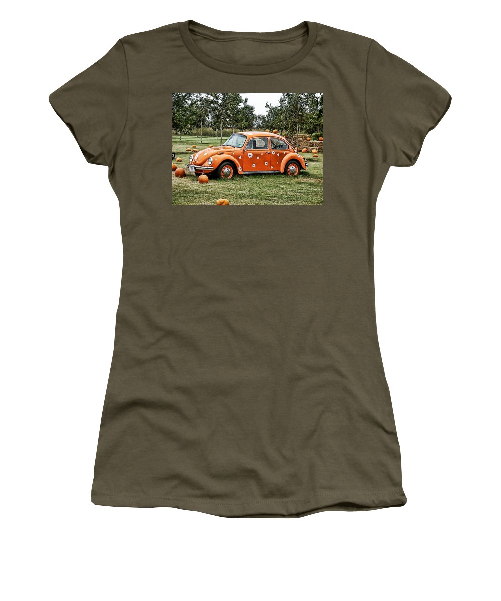 Bug Women's T-Shirt featuring the photograph Bugs In The Patch Again by Scott Wyatt