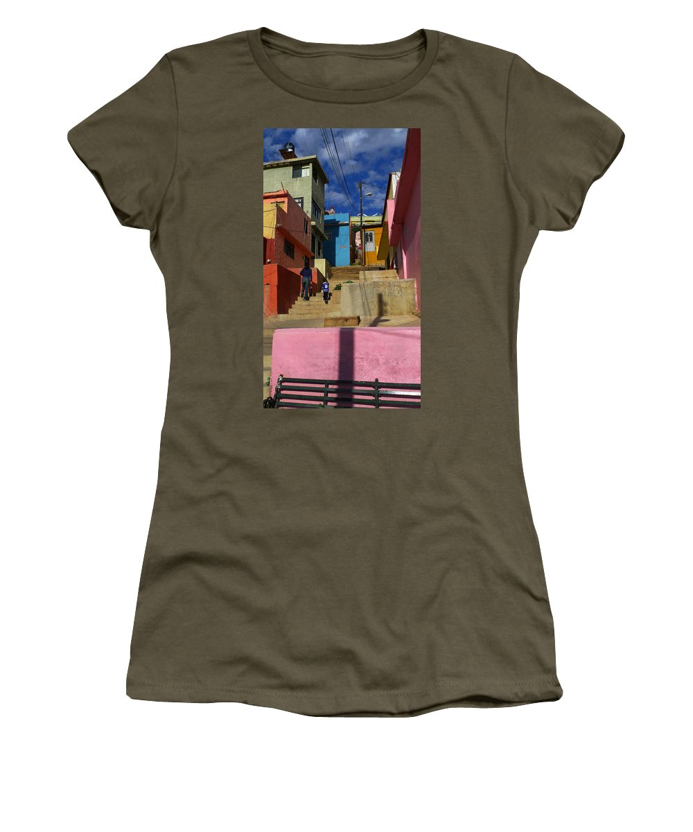 Skip Hunt Women's T-Shirt featuring the photograph Candyland by Skip Hunt