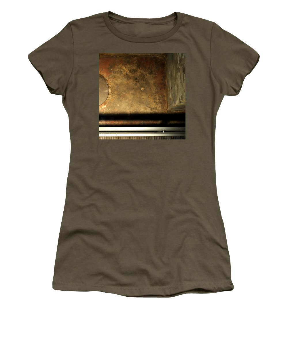 Manhole Women's T-Shirt featuring the photograph Carlton 13 - Abstract From The Bridge by Tim Nyberg
