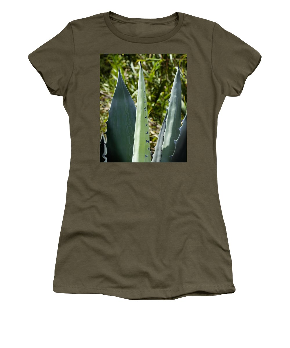 Century Plant Women's T-Shirt (Athletic Fit) featuring the photograph Century Plant by Kelley King