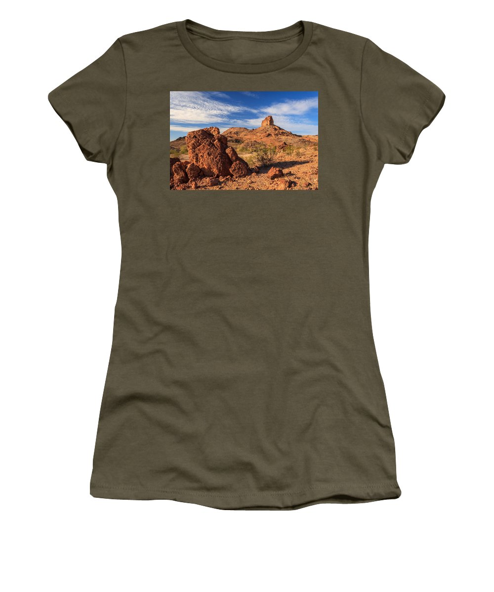Landscape Women's T-Shirt featuring the photograph Cobra Mountain by James Eddy