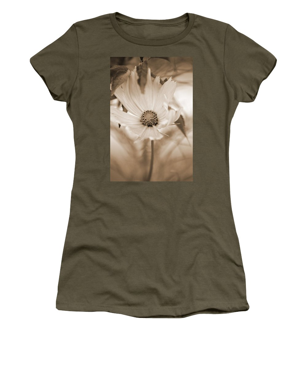 Flower Women's T-Shirt (Athletic Fit) featuring the photograph Cosmo by Donna Bentley