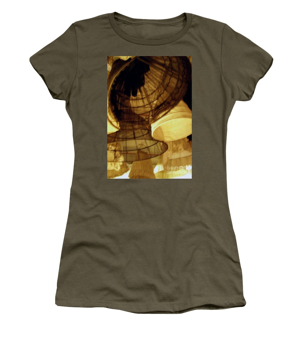 Theatre Women's T-Shirt (Athletic Fit) featuring the photograph Crinolines by Ze DaLuz