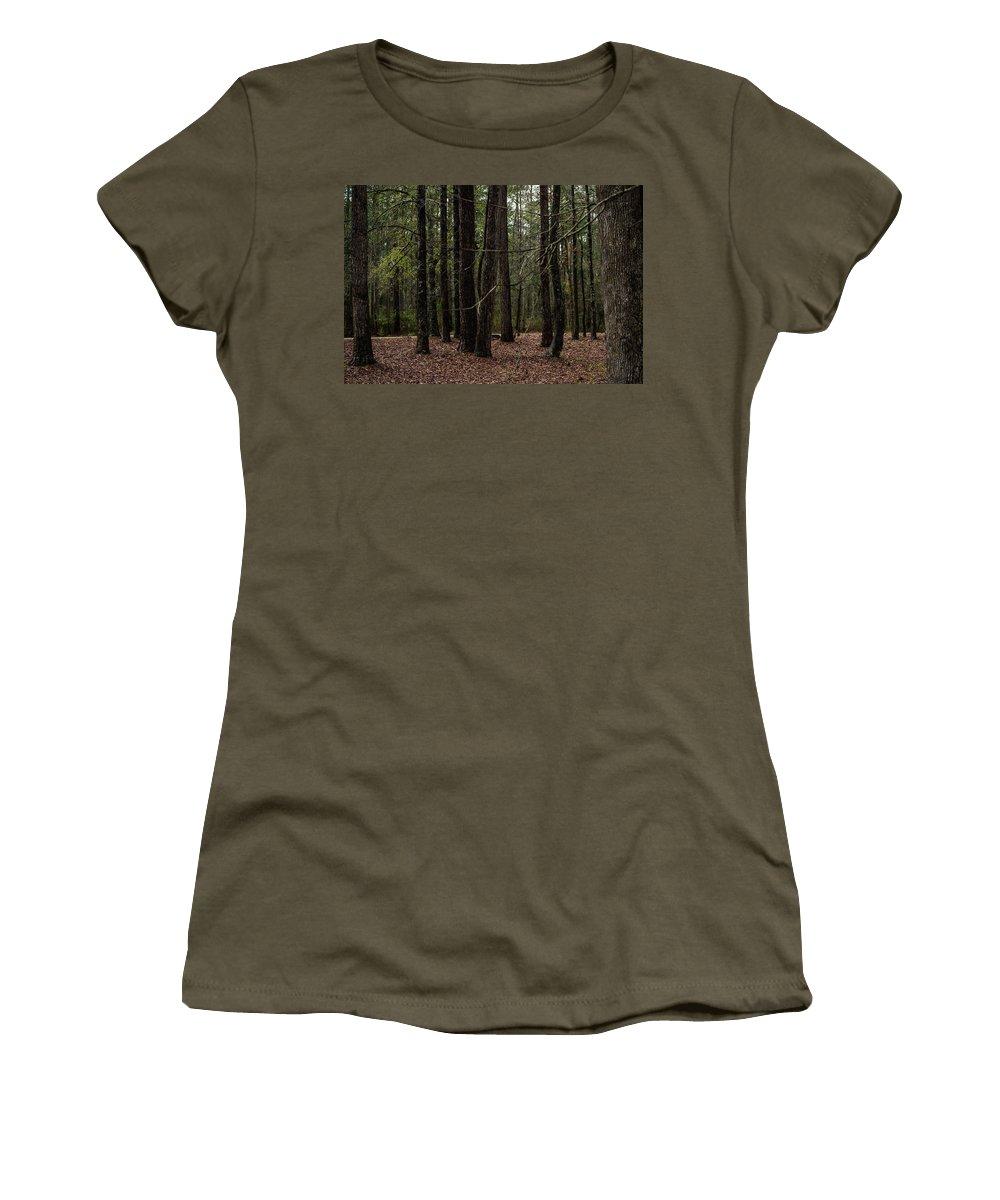 Croatan Women's T-Shirt (Athletic Fit) featuring the photograph Croatan by Benjamin Dunlap