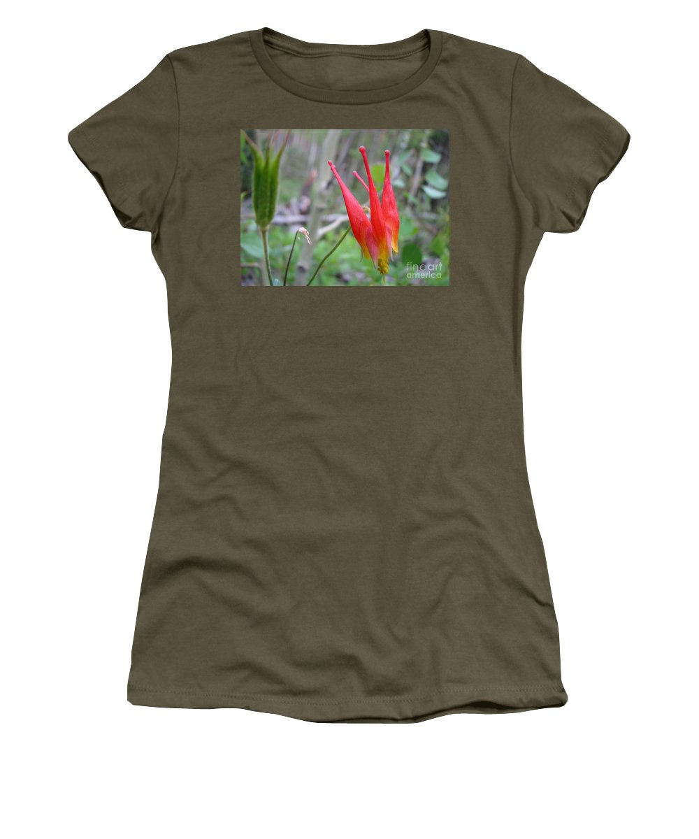 Flowers Of Colorado Women's T-Shirt featuring the photograph Crown by Amanda Barcon