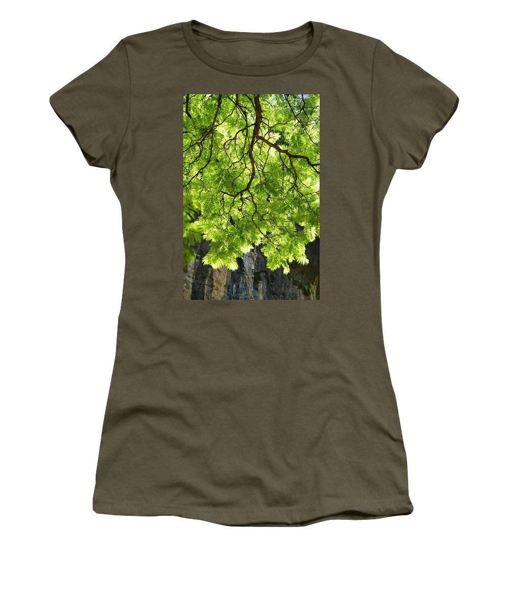 Skiphunt Women's T-Shirt featuring the photograph Daydream by Skip Hunt