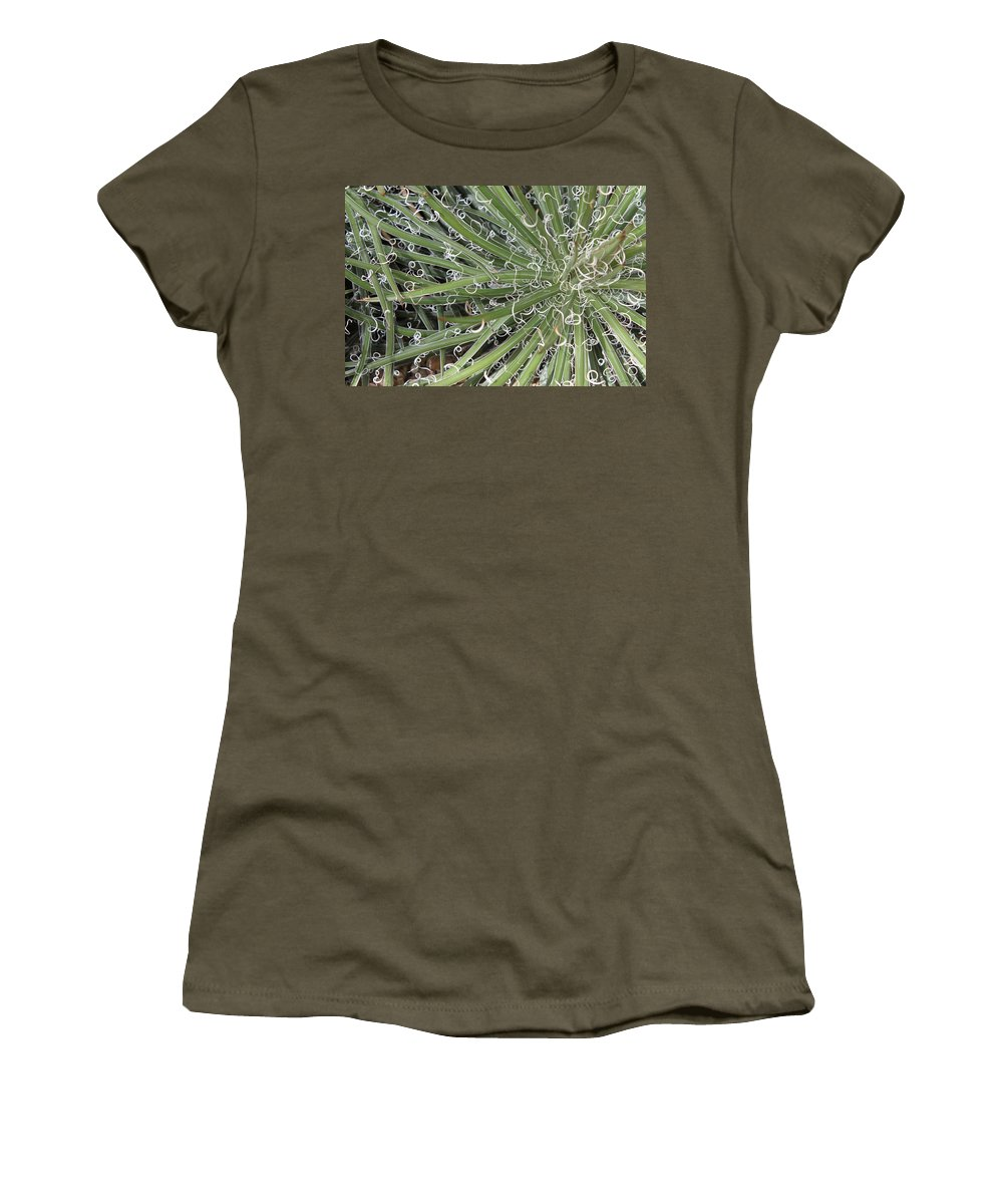 Nature Women's T-Shirt featuring the photograph Decorations by Munir Alawi