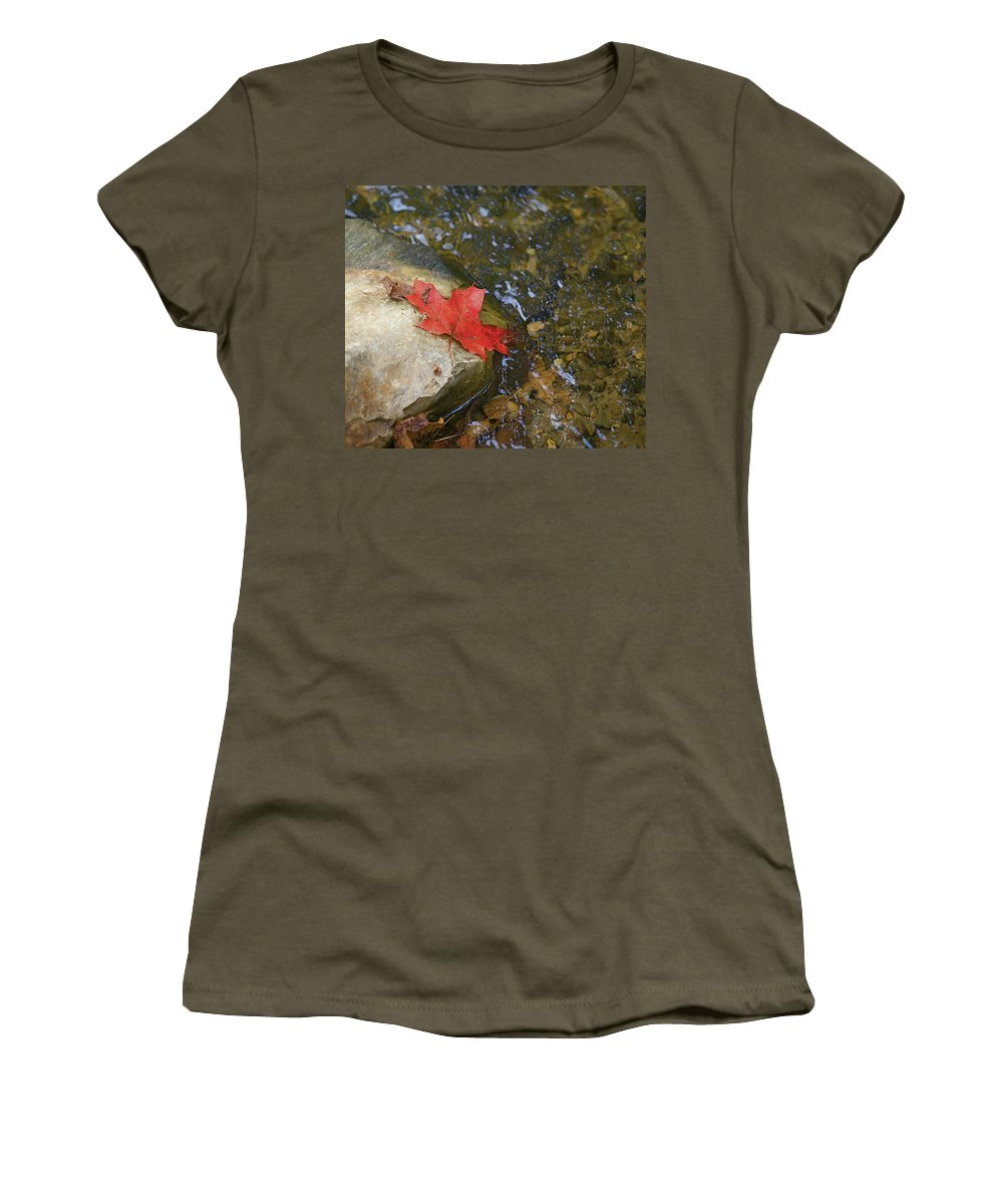 Abstact Women's T-Shirt featuring the photograph Destination by Robert Pearson