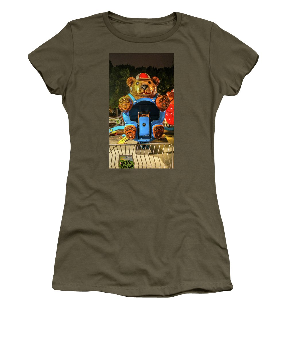 Vallejo Women's T-Shirt featuring the photograph Don't Feed The Bears by Kristofer M Johnson