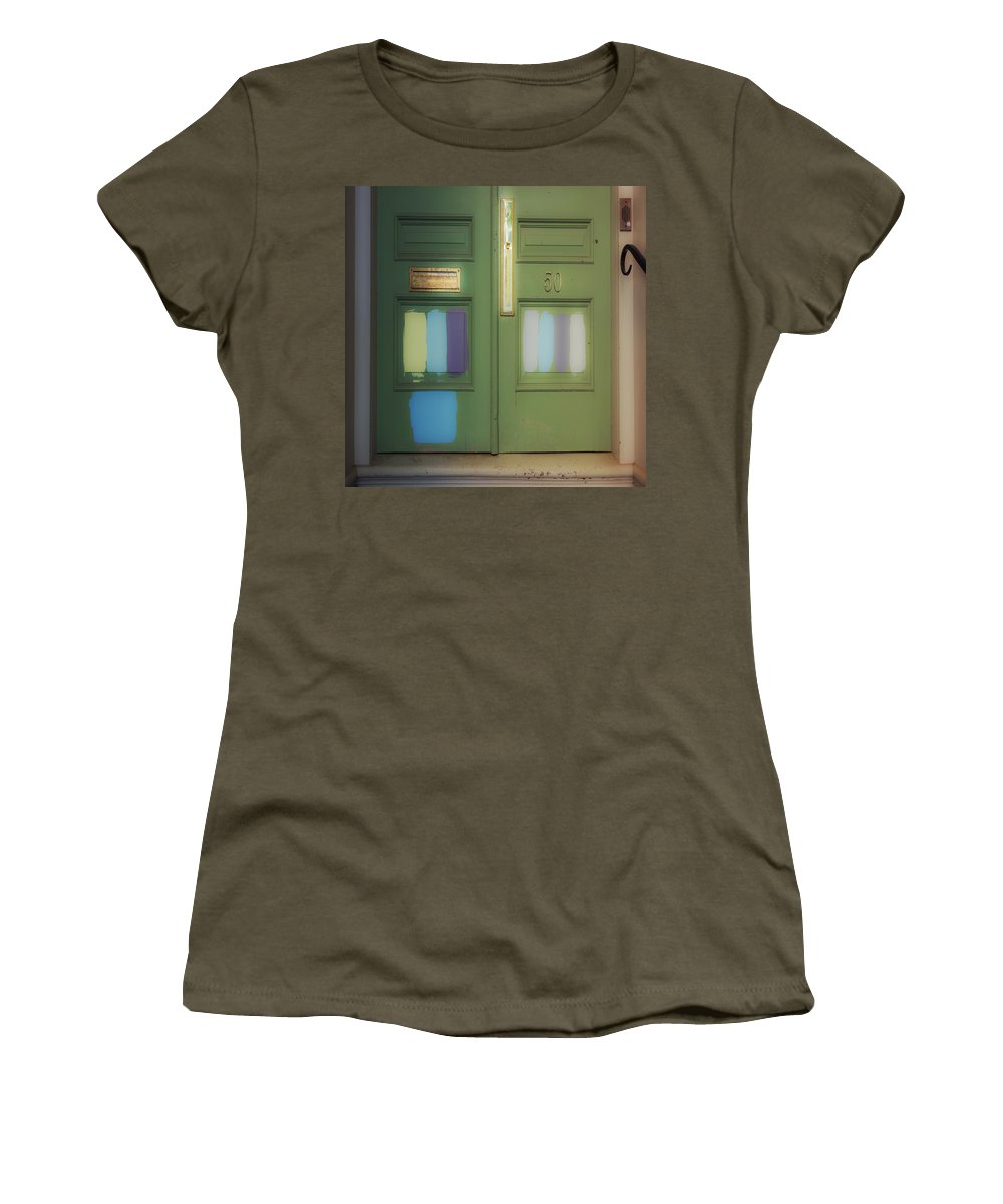 Door Women's T-Shirt featuring the photograph Door 50 by David Stone