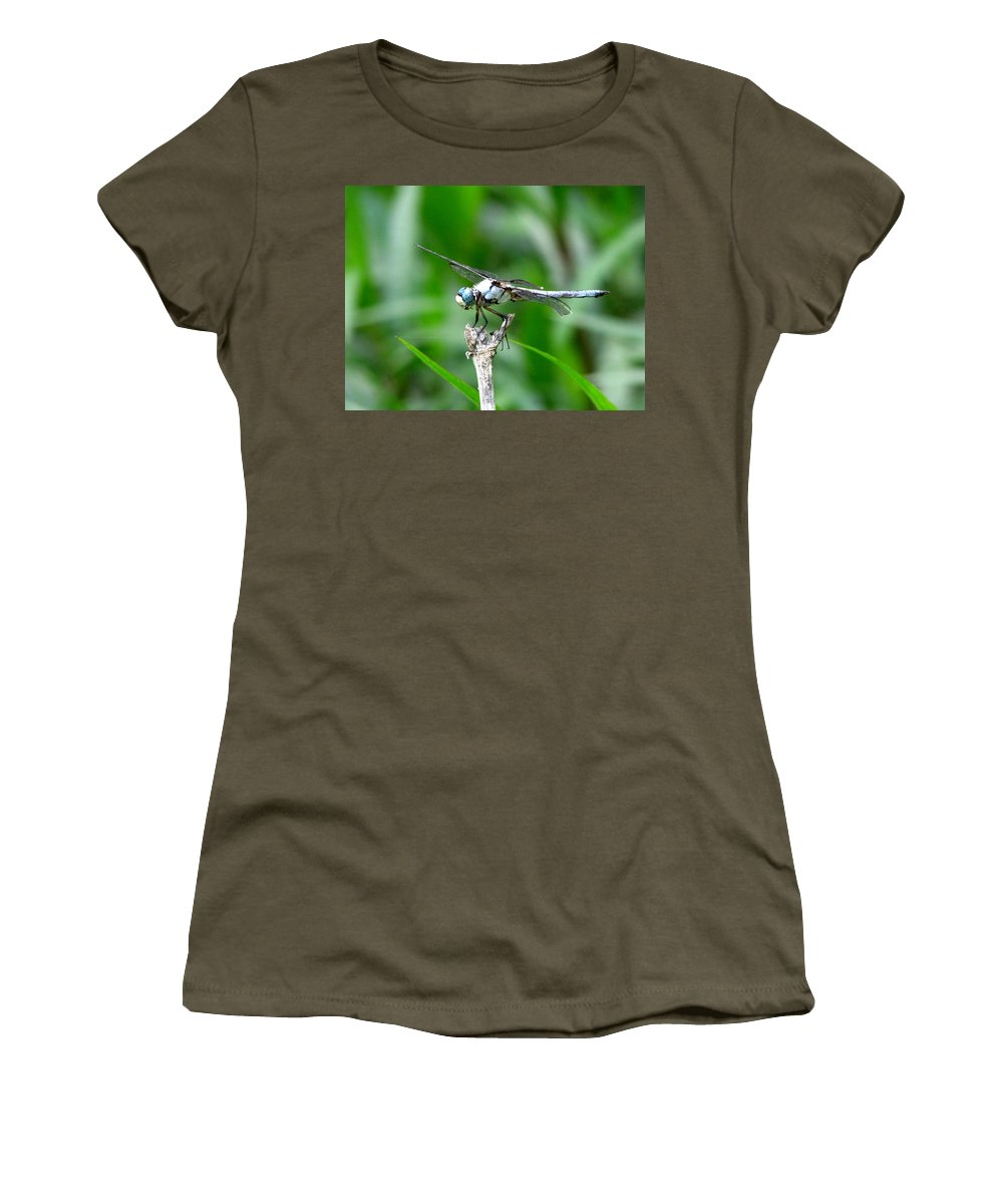 Dragonfly Women's T-Shirt featuring the photograph Dragonfly 15 by J M Farris Photography