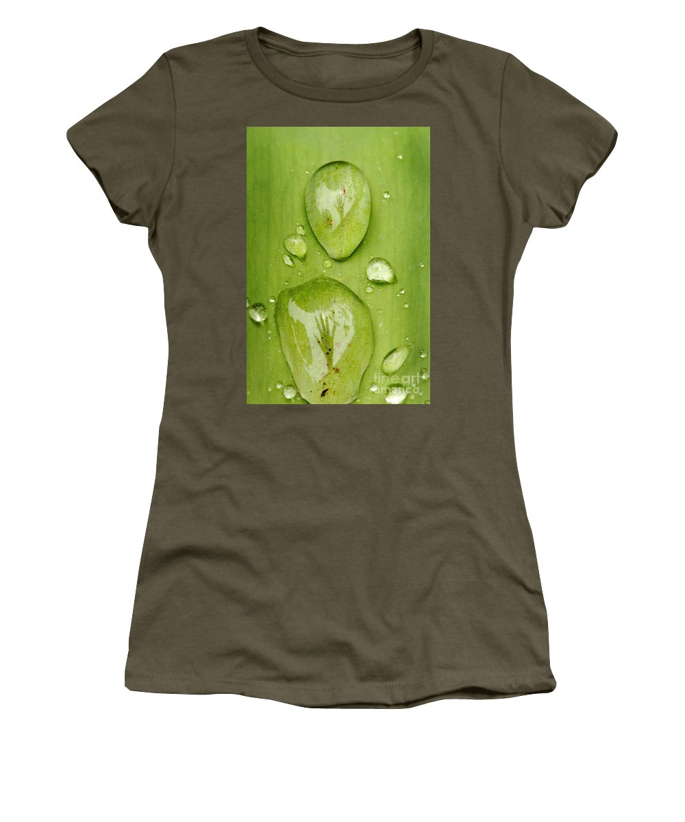 Drowning Women's T-Shirt featuring the photograph Drowning by Kristin Yata