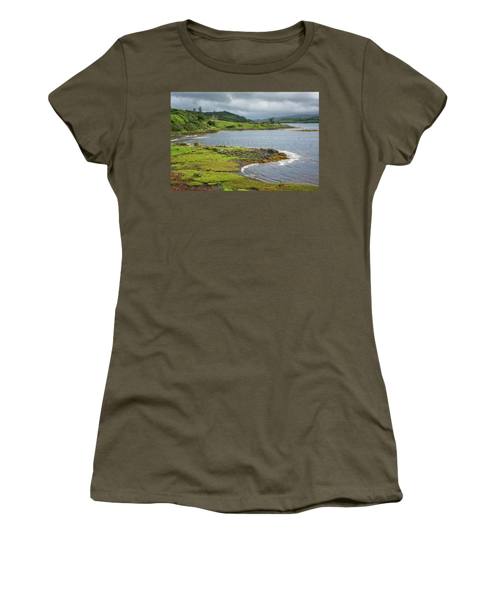 Europe Women's T-Shirt featuring the photograph Dunvegan Castle by Christian Heeb