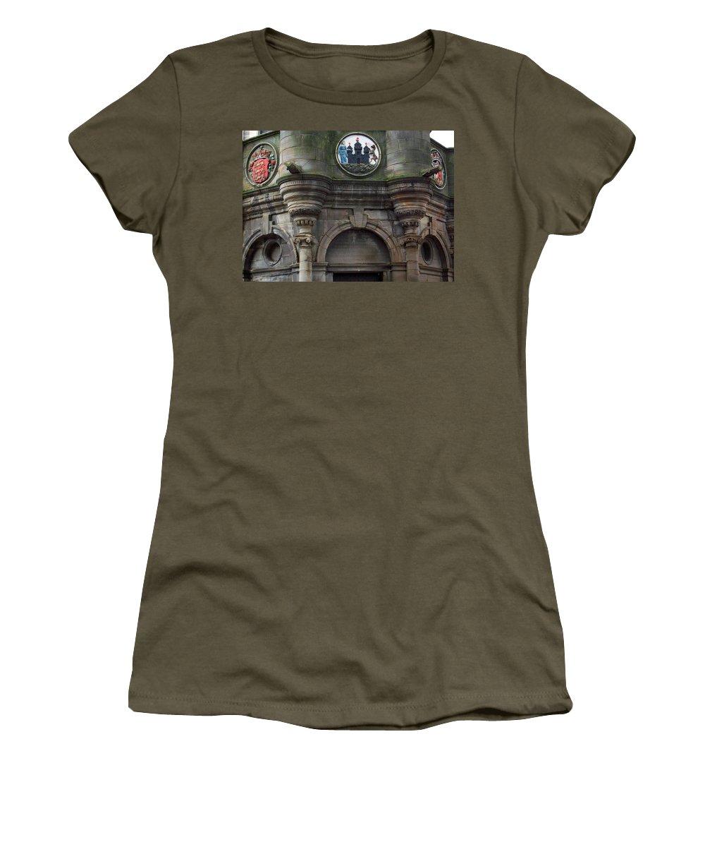 Scotland Women's T-Shirt featuring the photograph Edinburgh Church by Munir Alawi